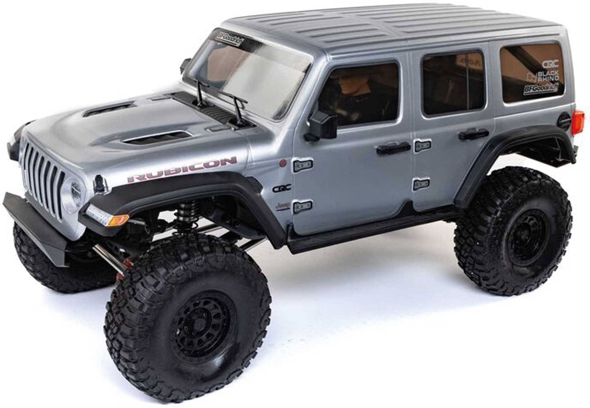 AXIAL SCX6 Jeep JLU Wranger: 1/6 4WD RTR Silber