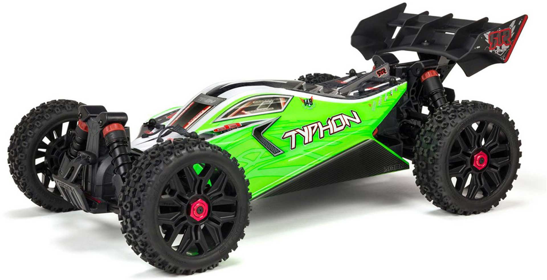 Arrma Typhon 4X4 550 Mega Brushed 1/8TH 4WD Buggy Green