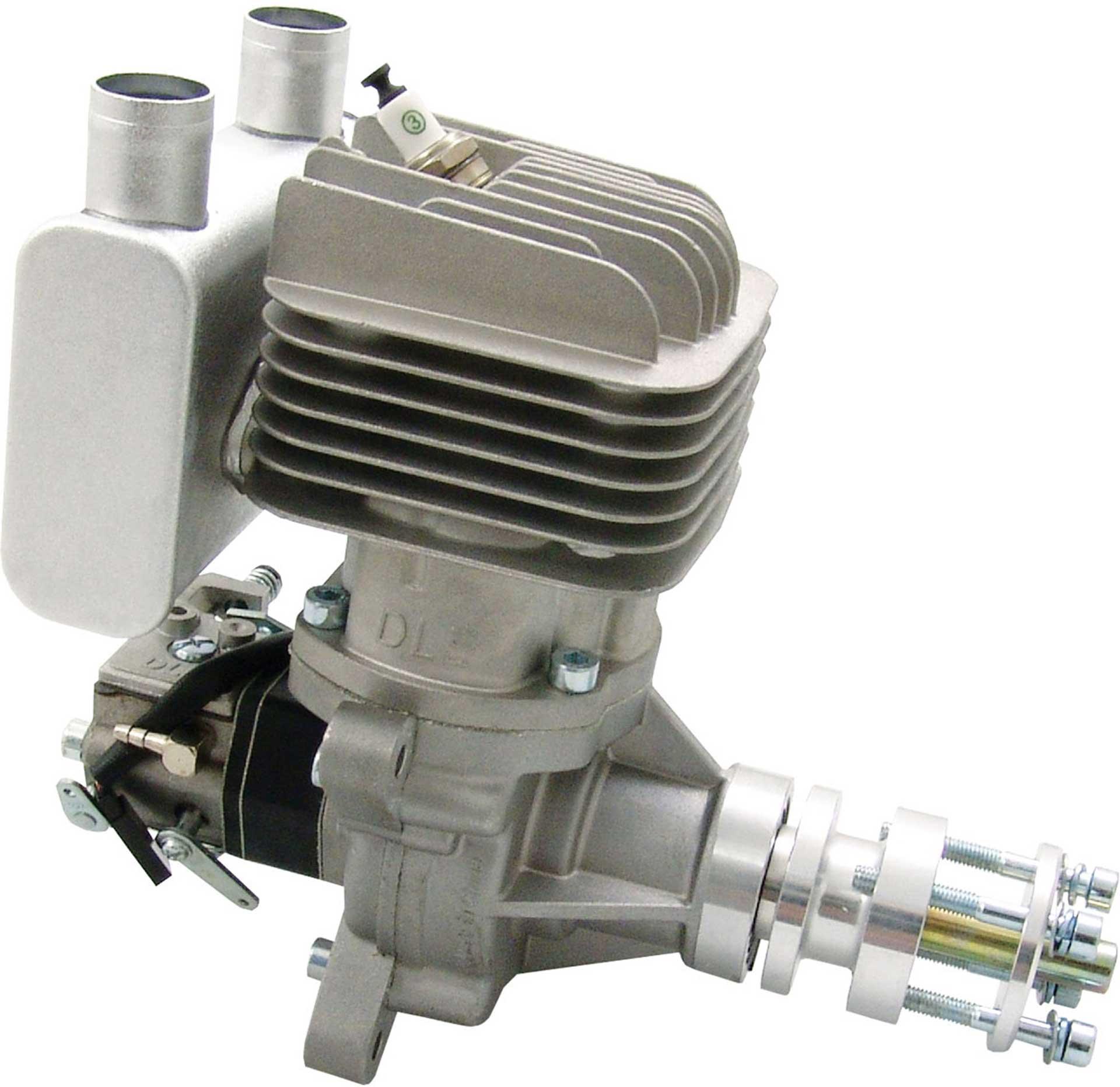 DLE Engines DLE 55 RA BENZIN MOTOR HECKAUSLASS