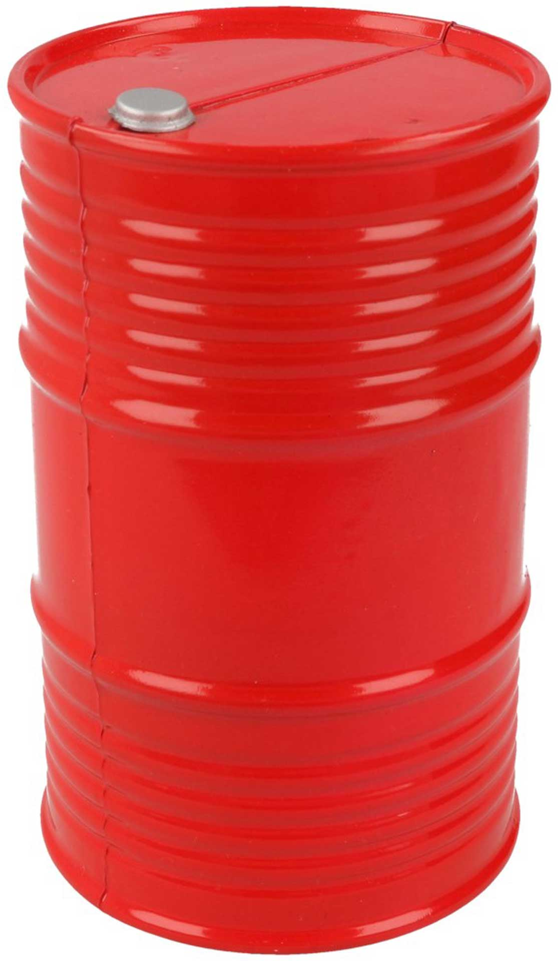 ROBITRONIC Oil Barrel Plastic Red 95x60mm