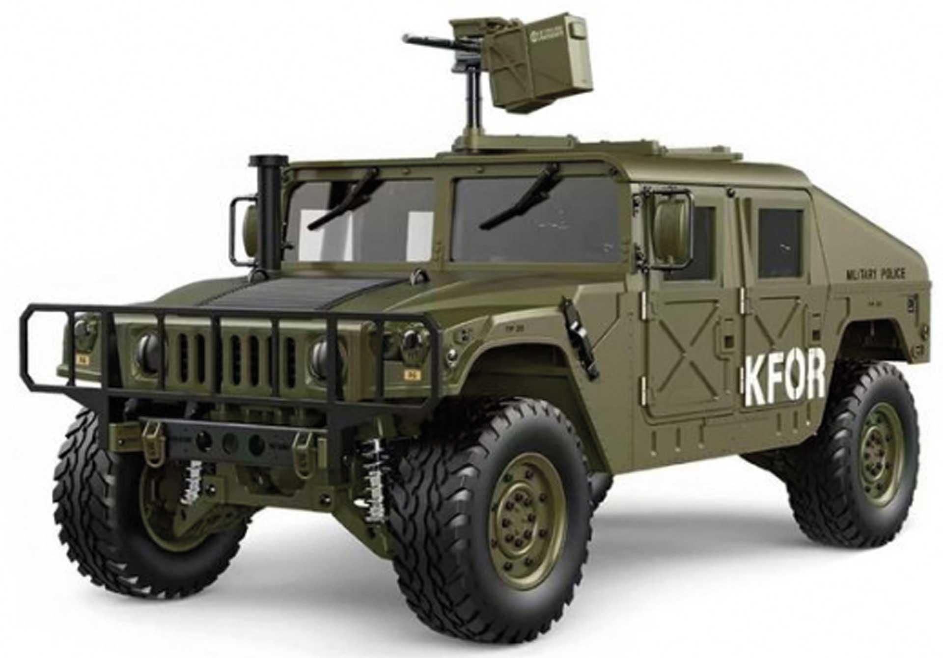 FM-ELECTRICS Military SUV mit Allrad 1/10 XL EP 4WD grün