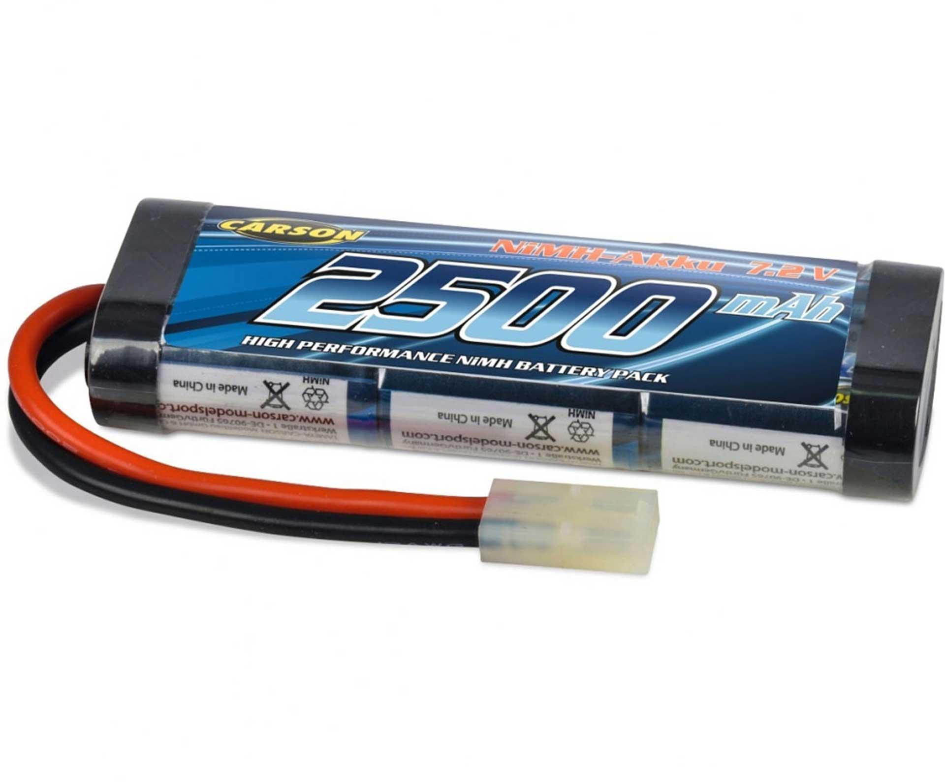 CARSON NI-MH RACING PACK 2500 MAH/7,2 VOLT