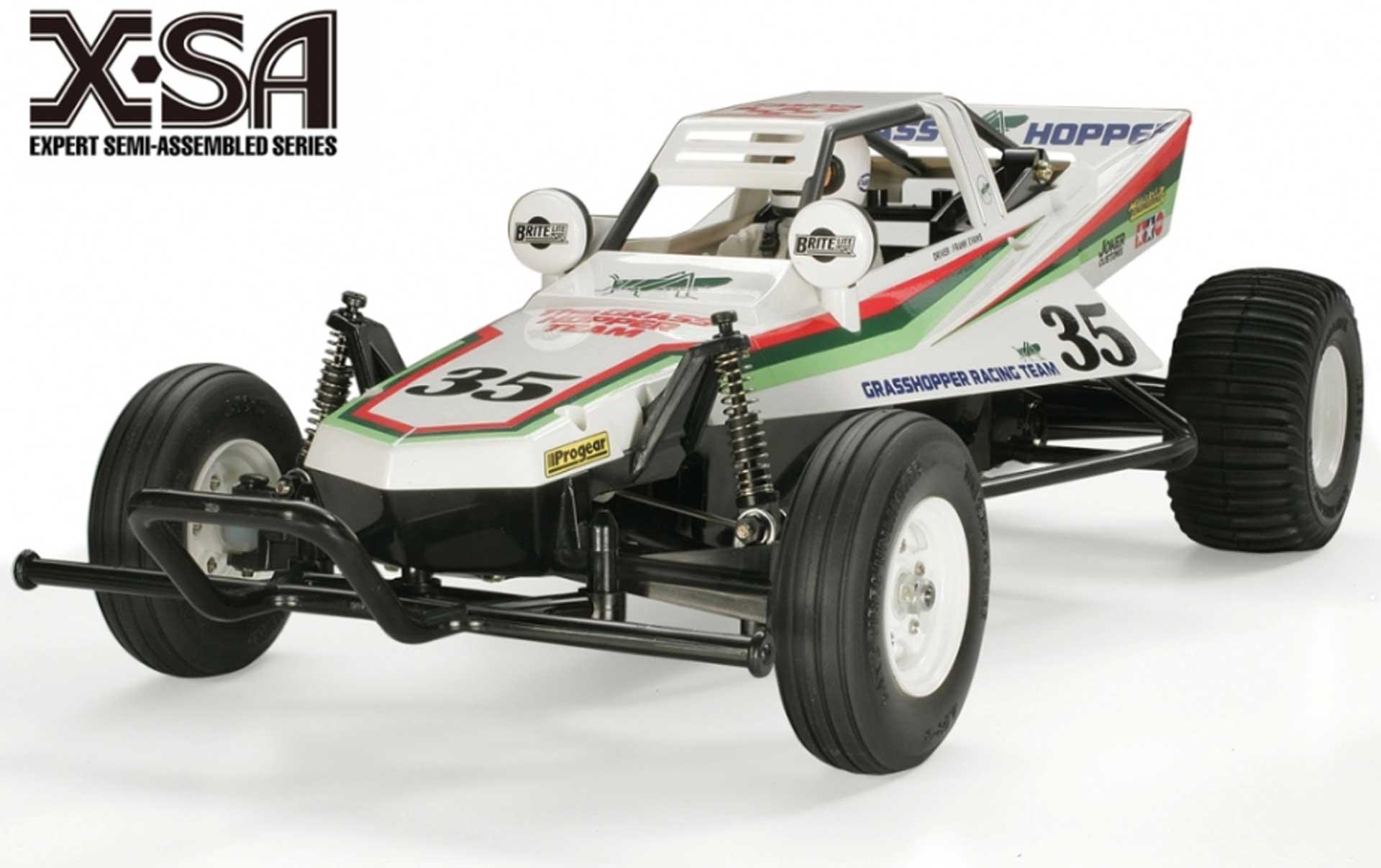 TAMIYA X-SA Grasshopper I 1/10 2WD Buggy EP fertig gebaut und lackiert