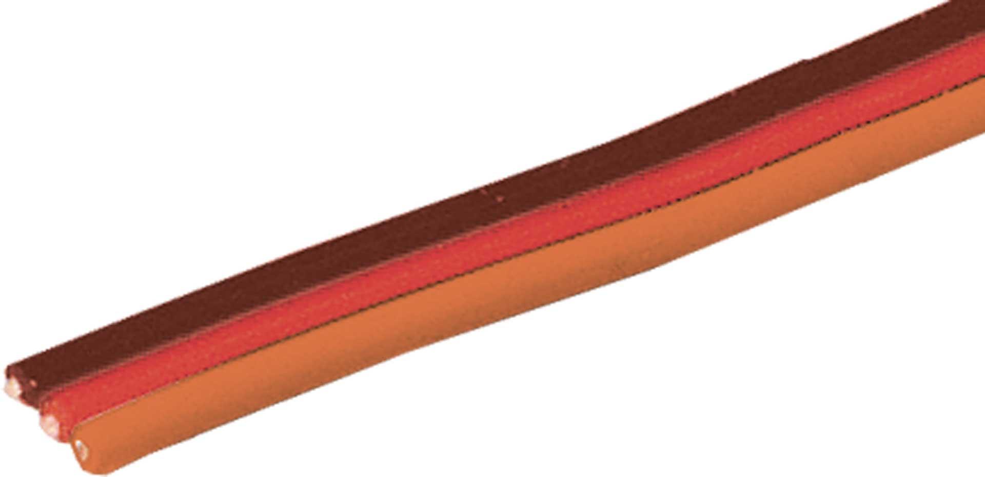 Robbe Modellsport Servokabel Graupner/JR/Uni 10 Meter flach 0,5mm² (20AWG) PVC Meterware