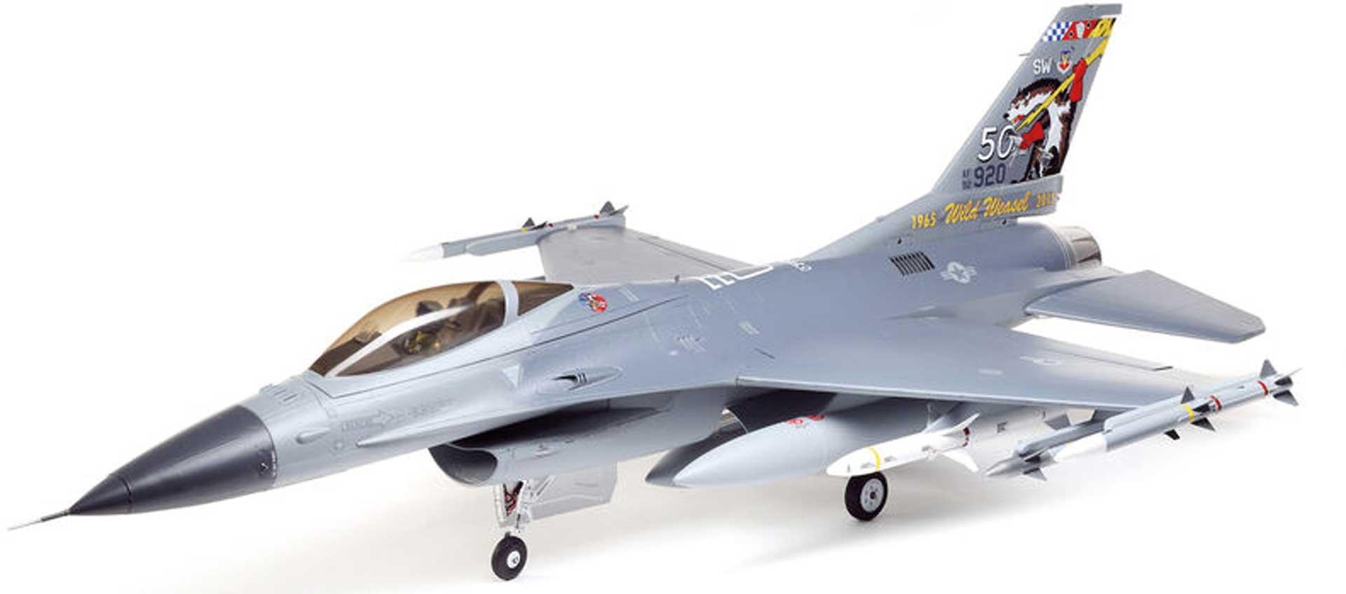 E-FLITE F-16 Falcon 80mm EDF w/SMART ARF+ (ohne Antrieb)