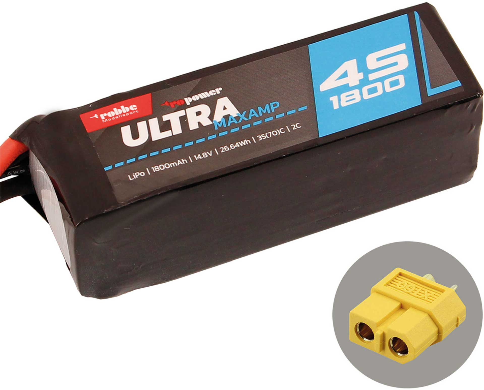 ROBBE RO-POWER ULTRA MAXAMP 1800MAH 14,8 VOLT