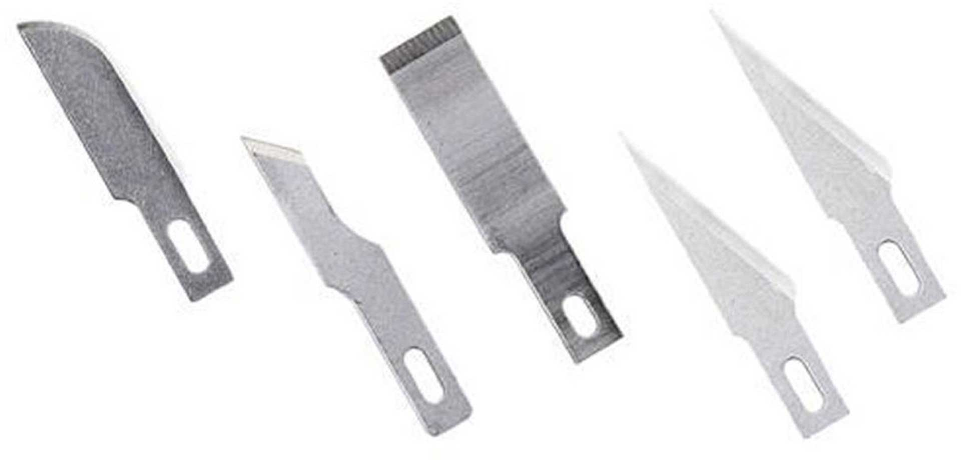 EXCEL REPLACEMENT BLADES SET 5PCS. NARROW SORTED