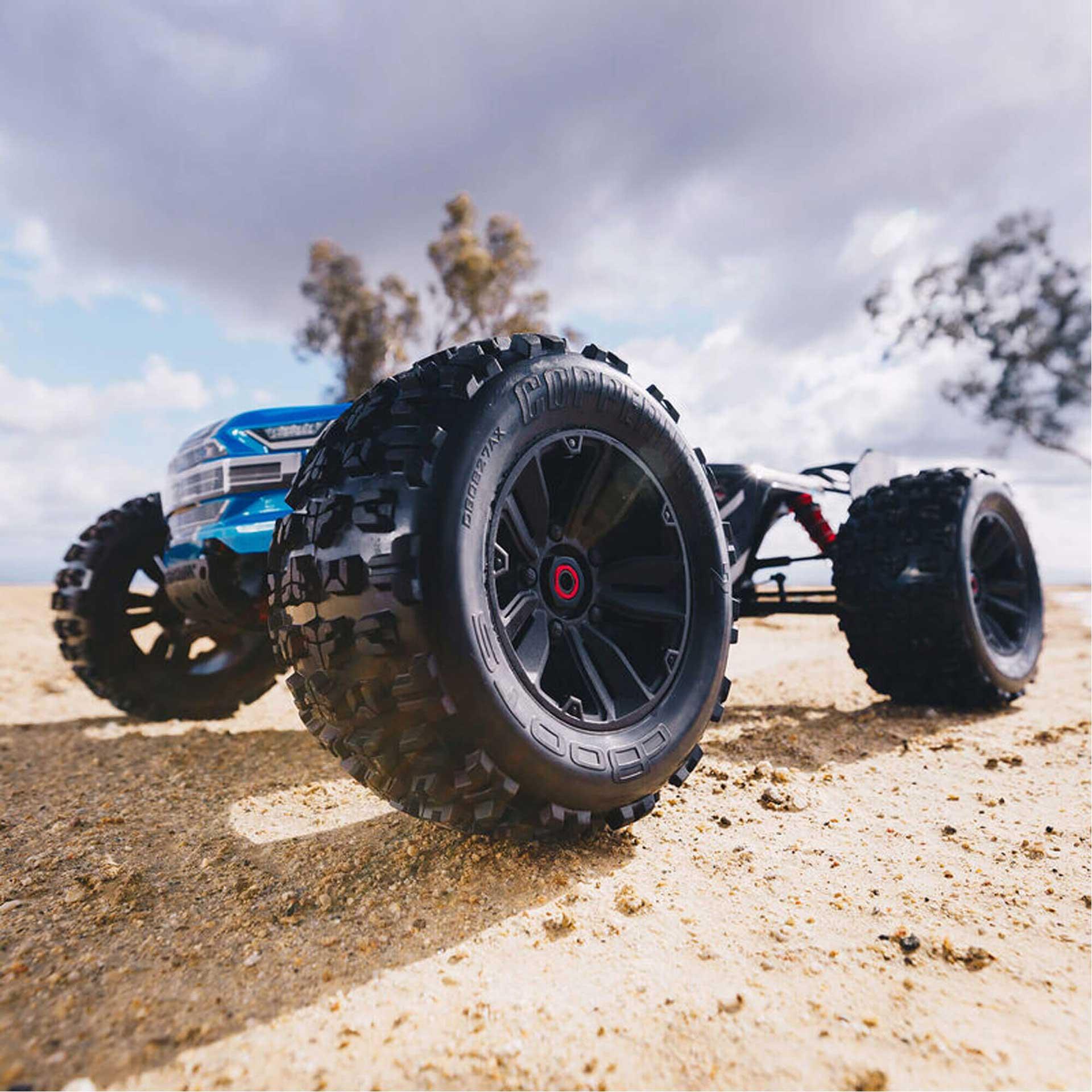 ARRMA Kraton 6S V5 4WD BLX 1/8 RTR Blau Speed Monster Truck
