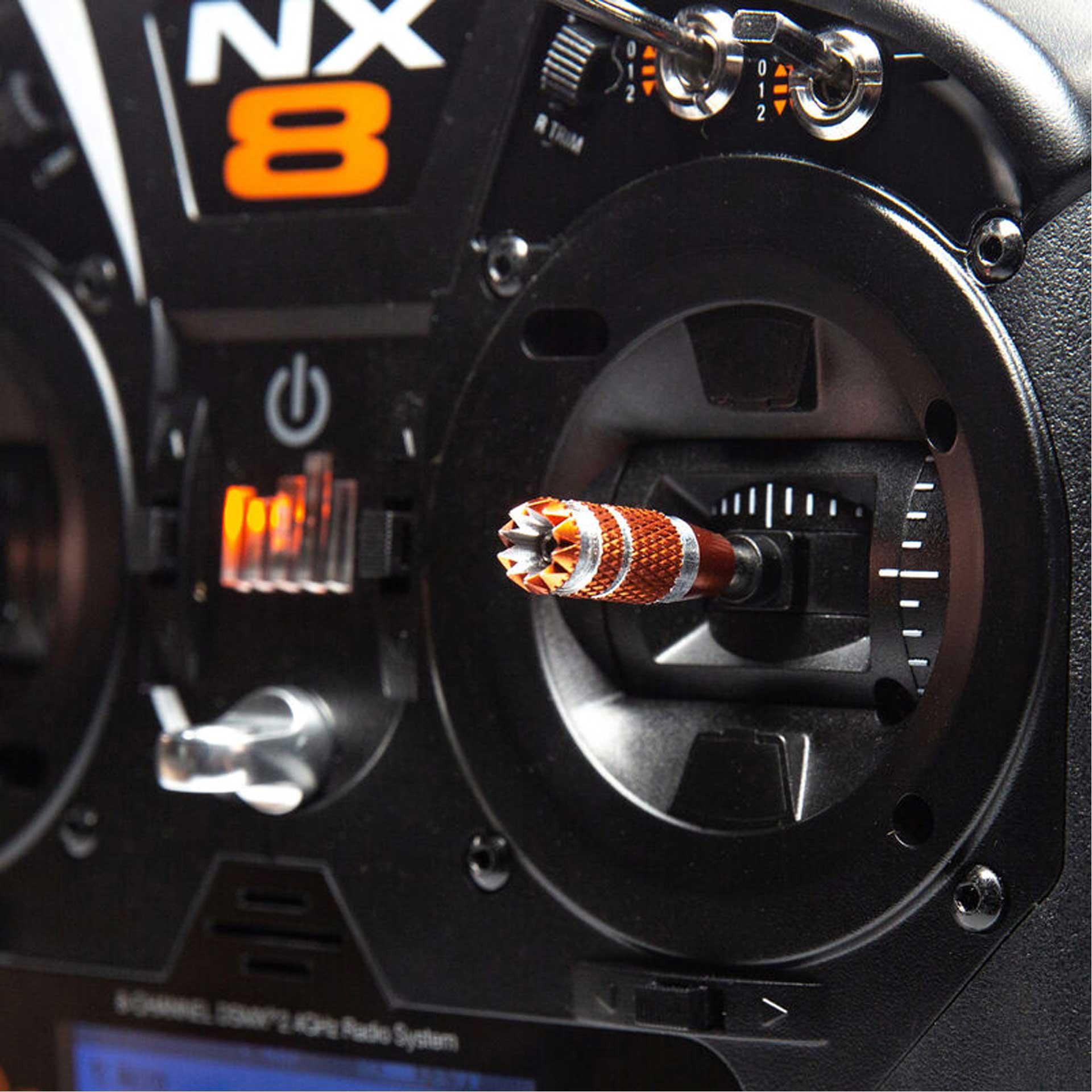 SPEKTRUM NX8 8-Kanal Einzelsender DSMX 2,4Ghz Fernsteuerung