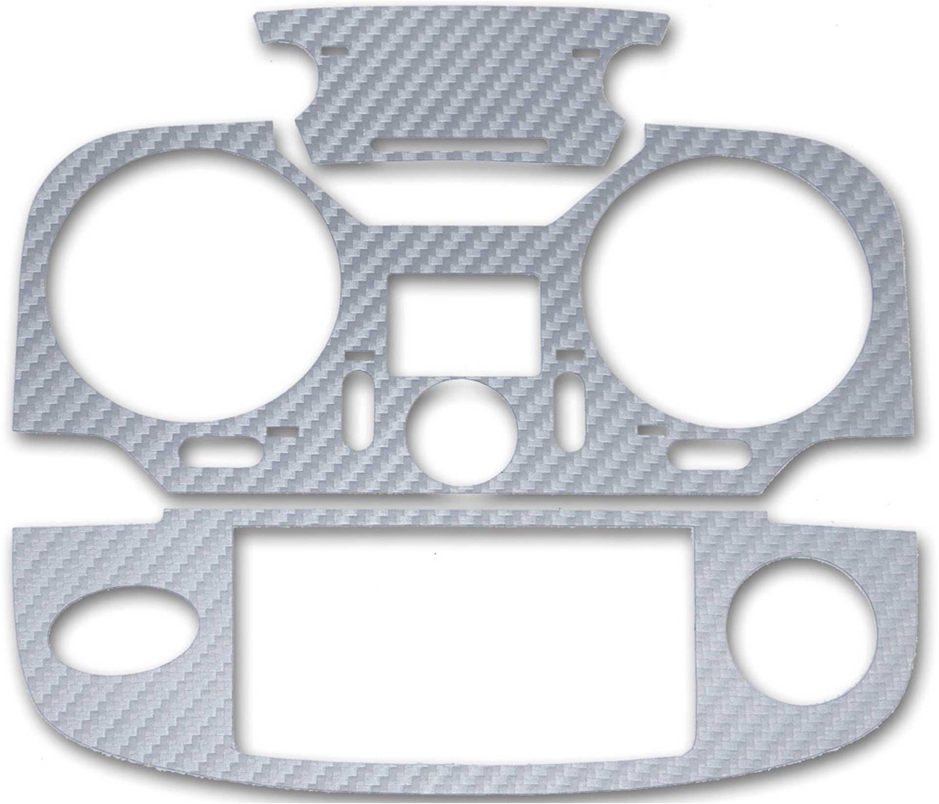 ACT T12K 3D-Folie Carbonlook silber