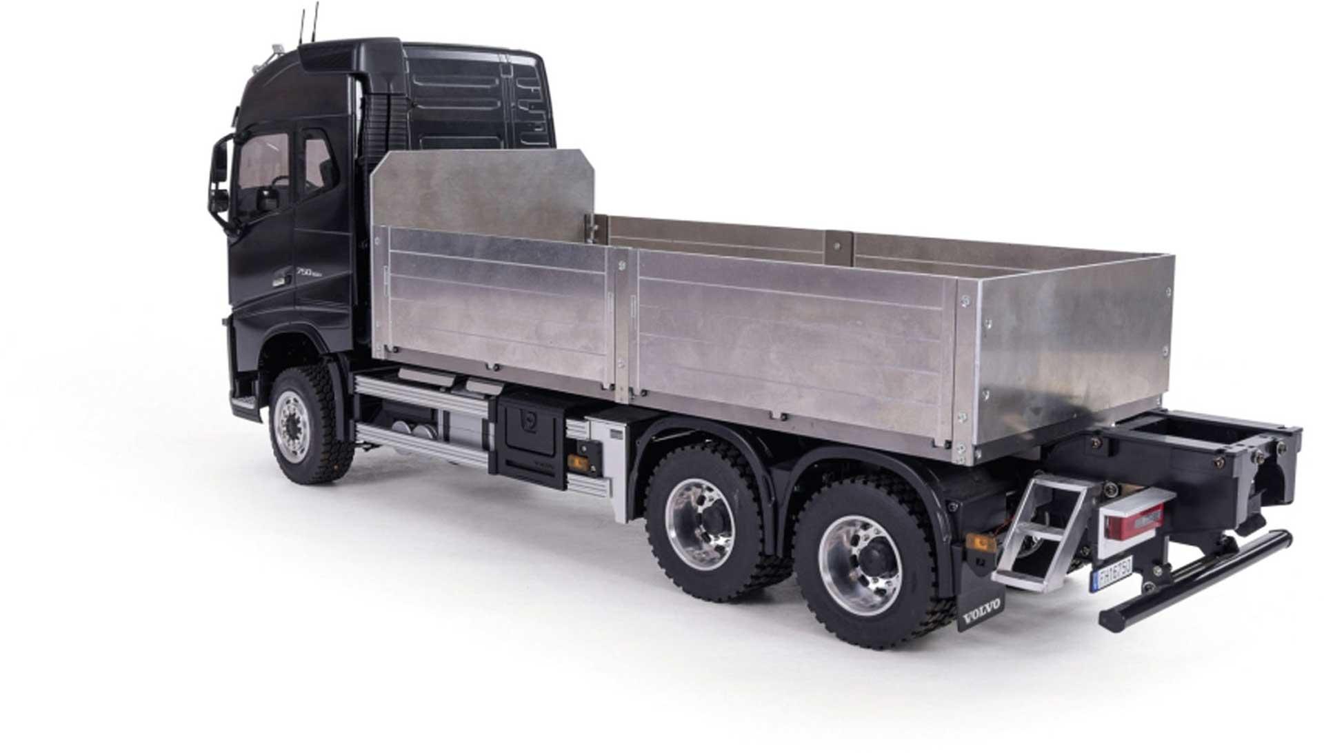 CARSON 1:14 Baustoffaufbau kurz für Volvo FH16 Holztransporter