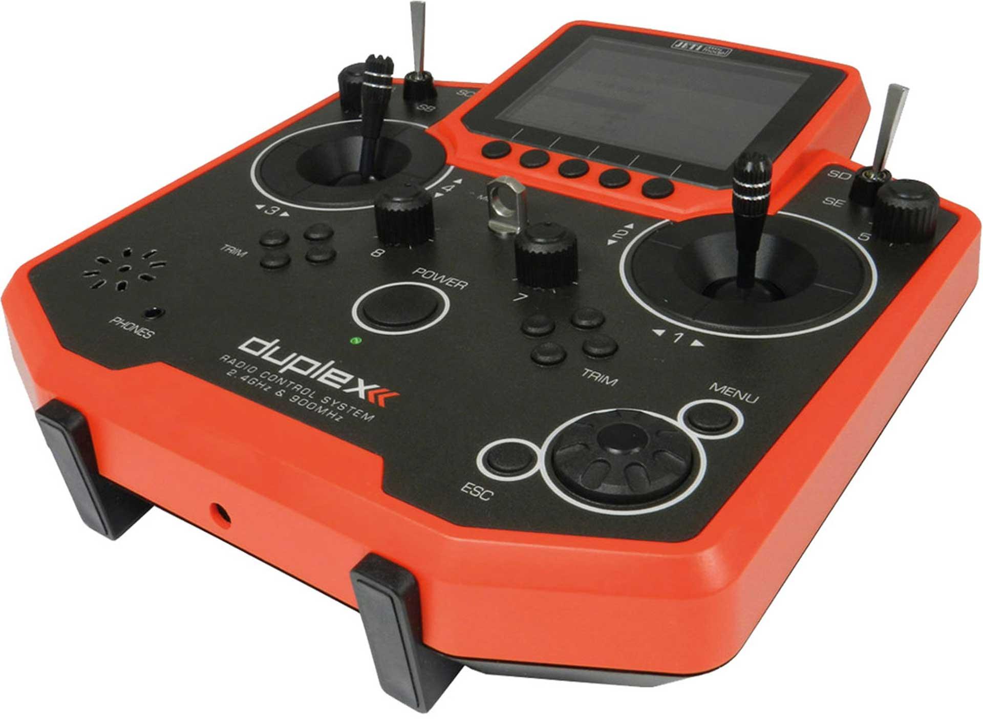 JETI DS-12 DUPLEX HANDSENDER ROT DUPLEX 2,4EX