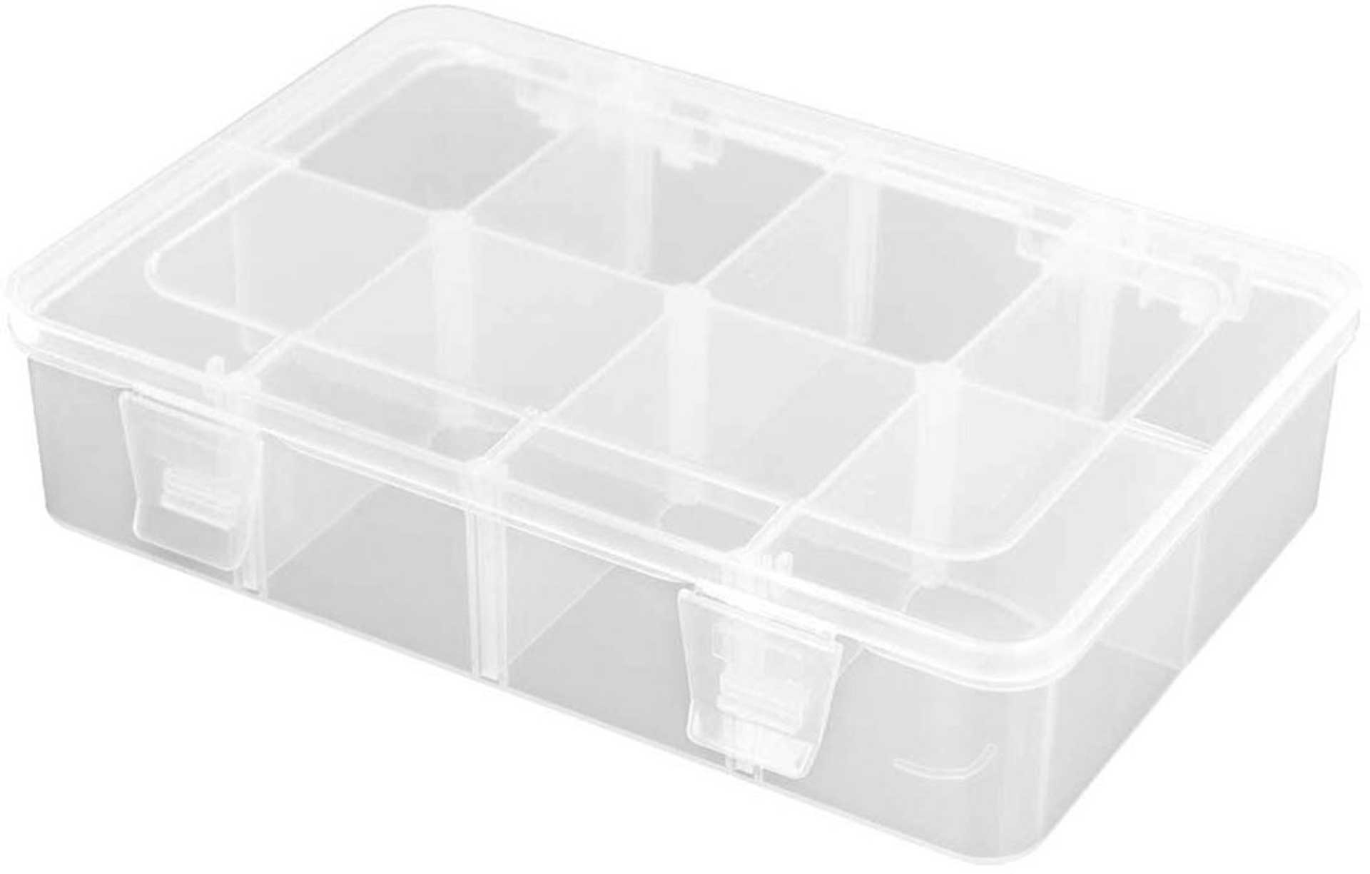 ROBITRONIC ASSORTMENT BOX 8 COMPARTMENTS 187X126X43MM VARIABLE