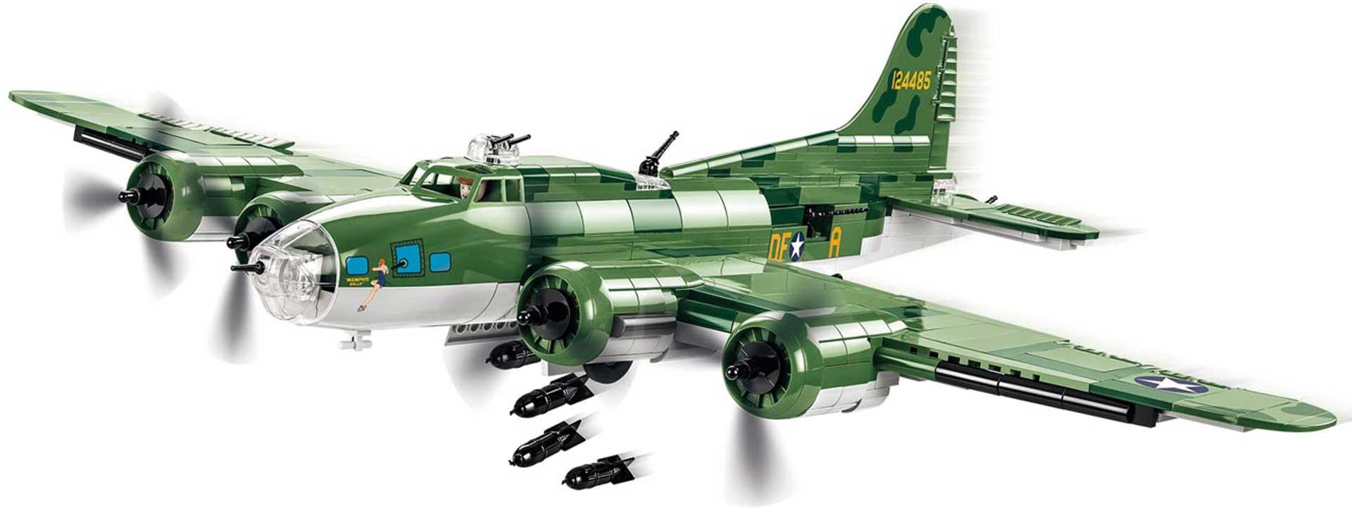 COBI Boeing B-17F Flying Fortress Memphis Bel