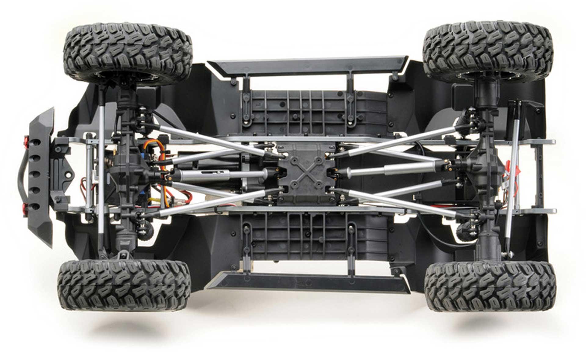 "ABSIMA CR1.8 ""YUCATAN"" 1/8 Dunkelgrau 4WD RTR Crawler"