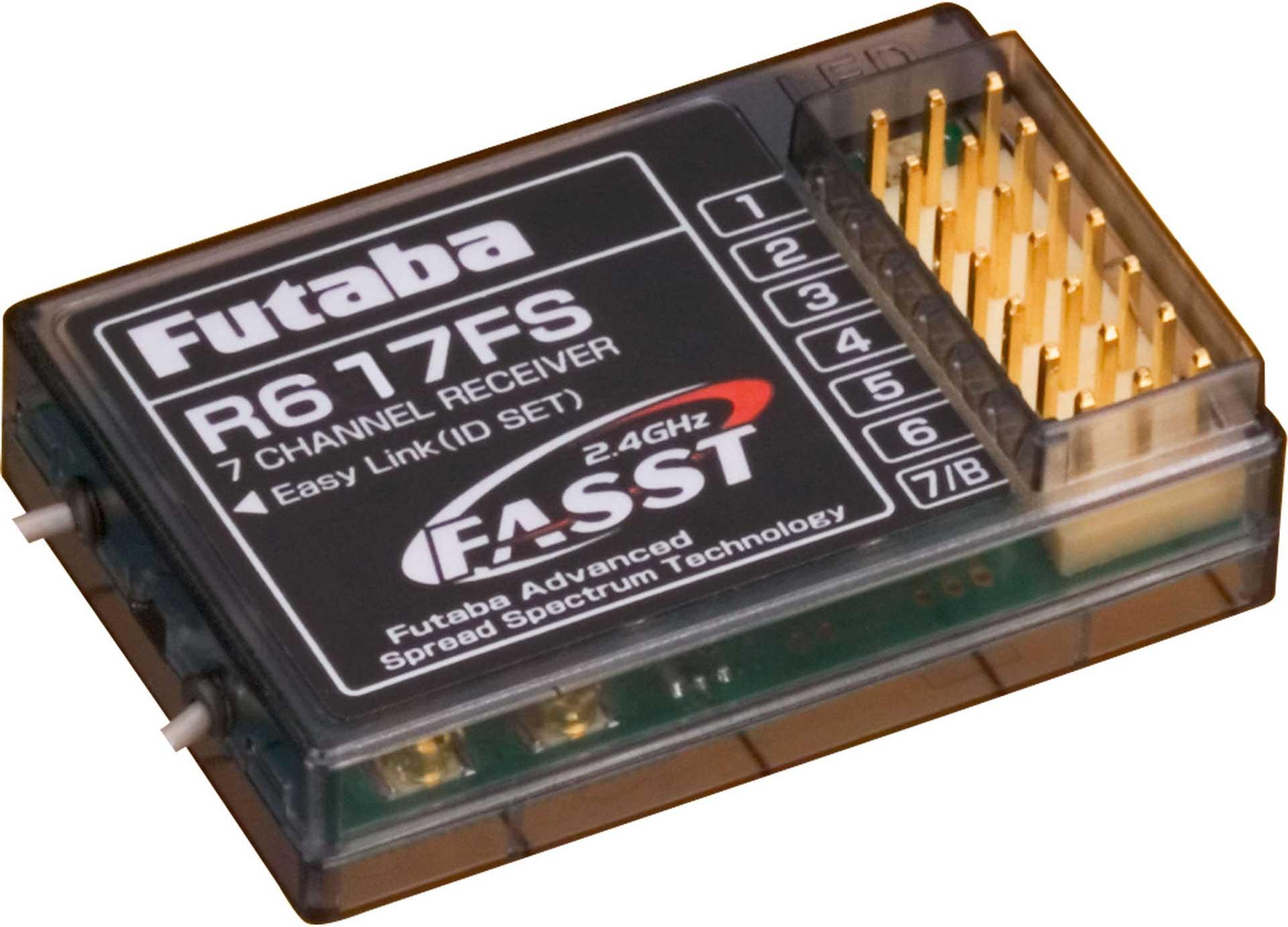 FUTABA R 617FS 2,4GHZ CAPACITY RECEIVER