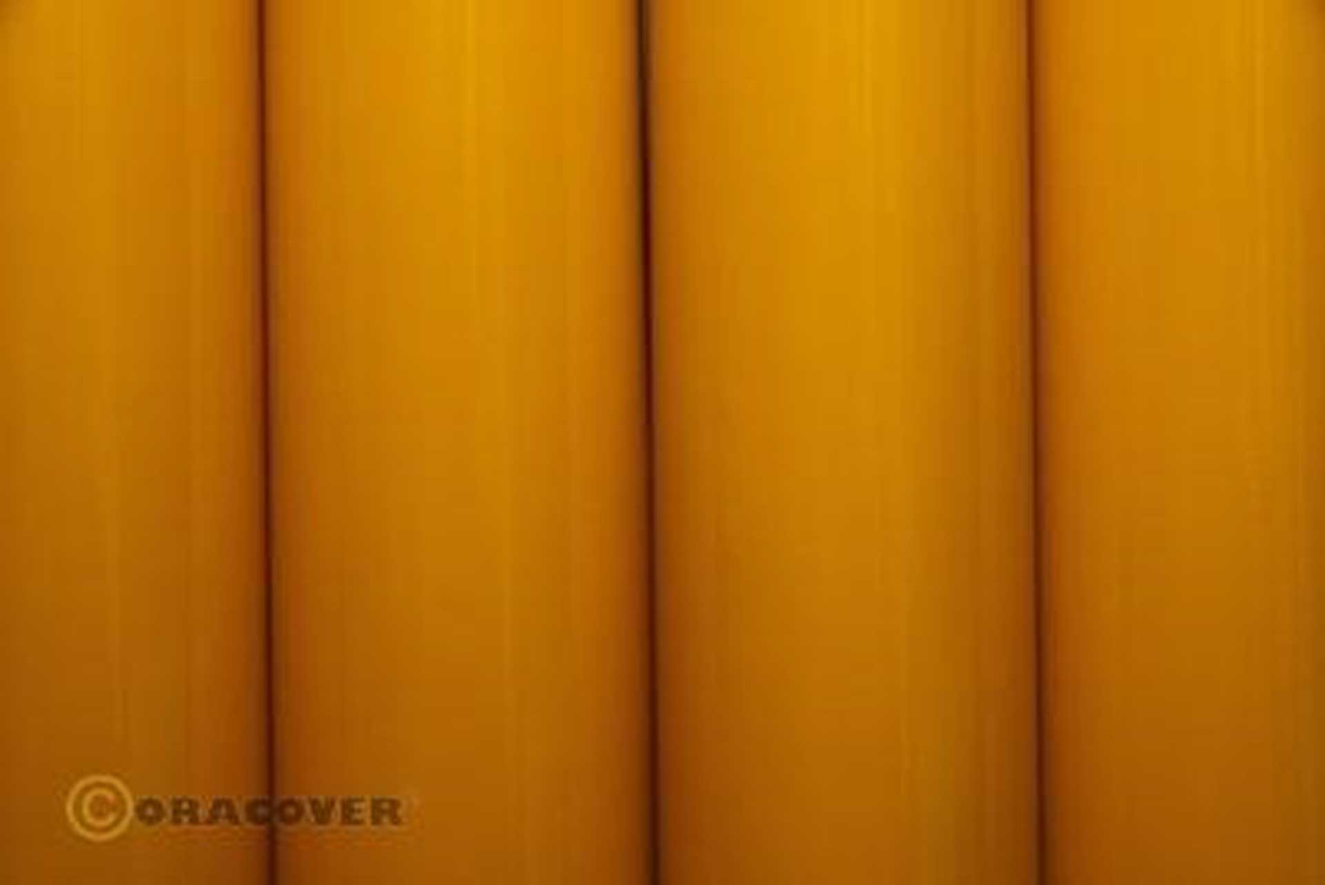 ORACOVER Bügelfolie Scale Goldgelb 2 Meter # 32