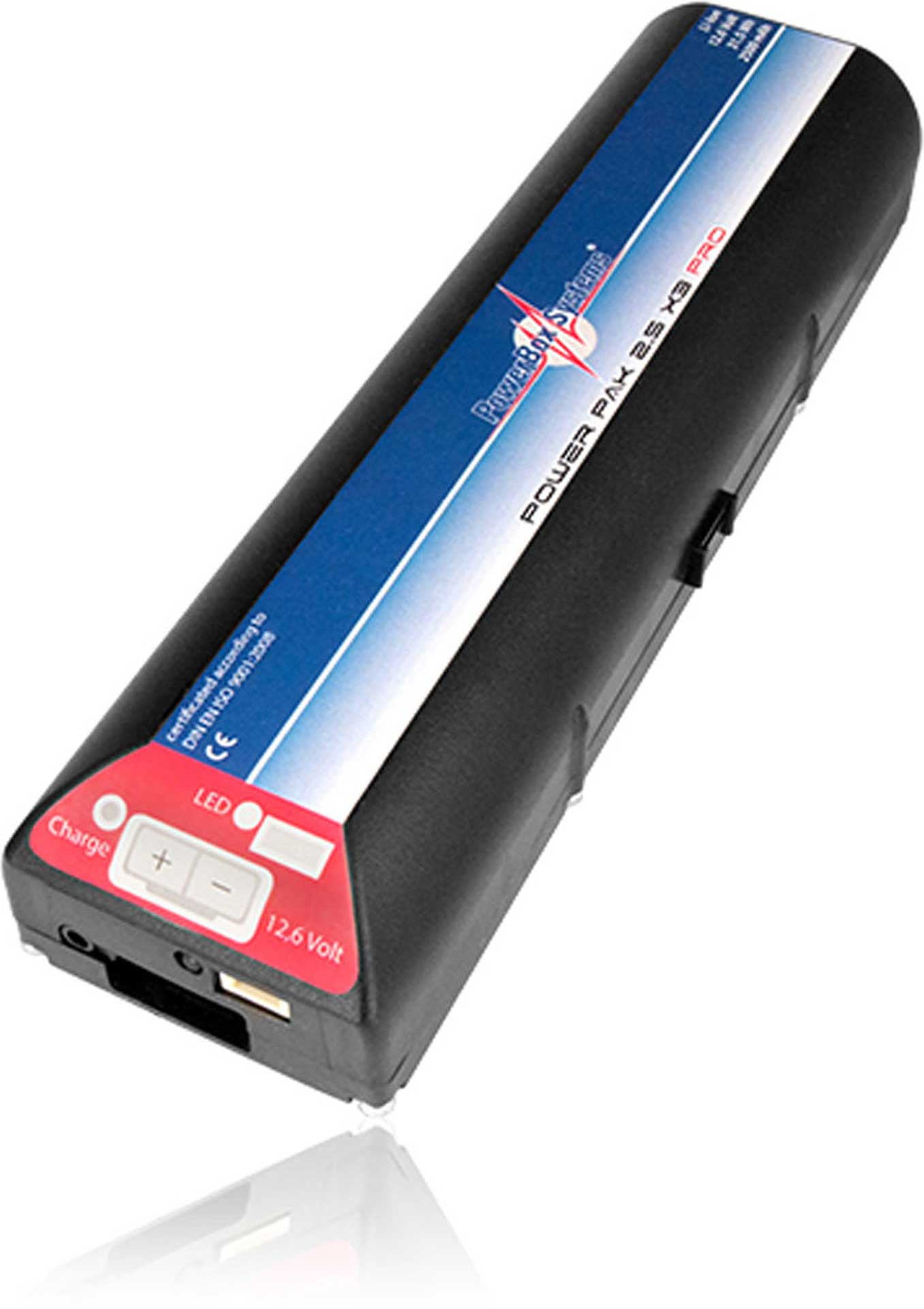 POWERBOX SYSTEMS POWERPAK 2.5X3 PRO 2500MAH 11,1V