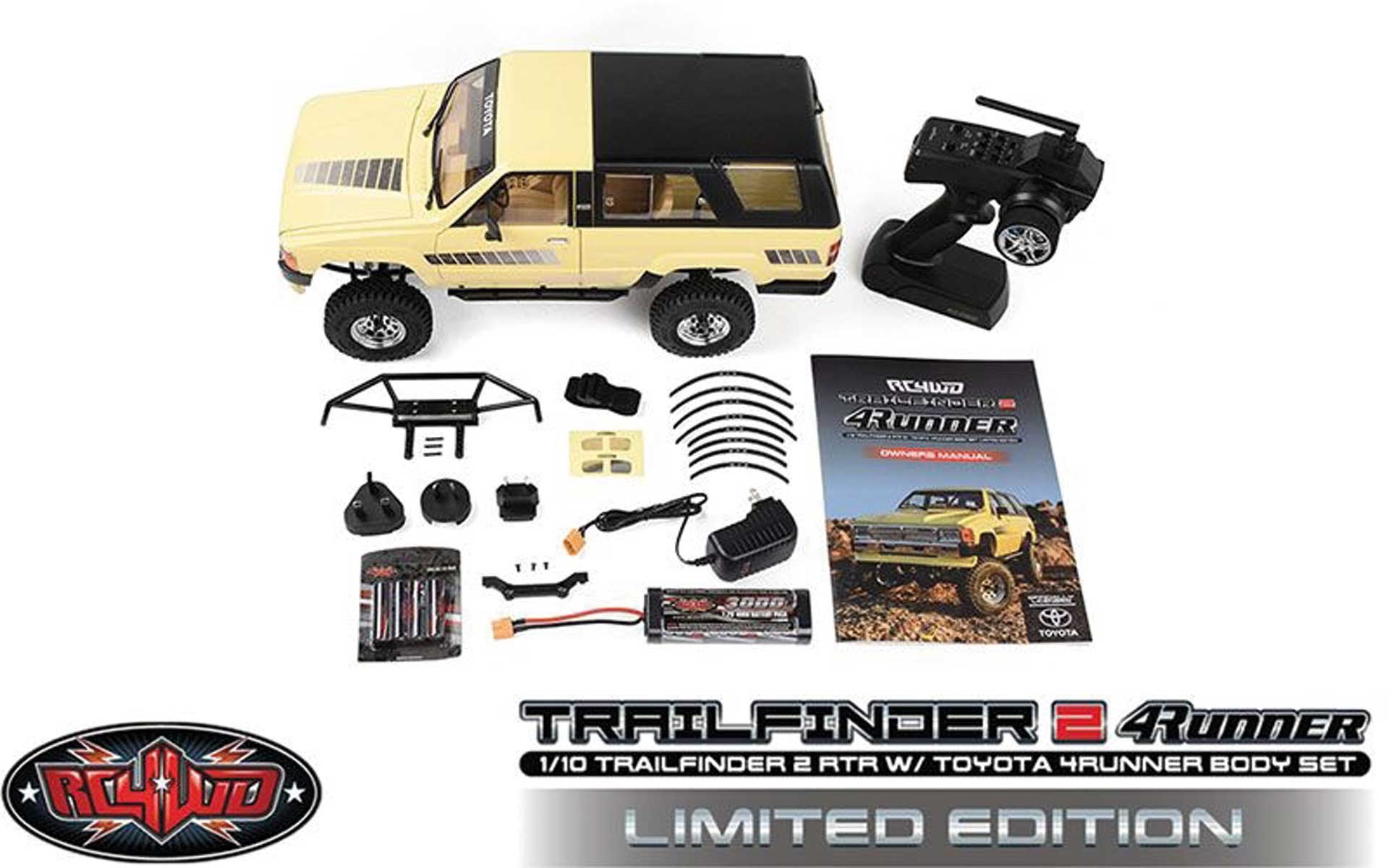 RC4WD Trail Finder 2 RTR 1985 Toyota 4Runner Hart-Karosserie *Limited Edition*