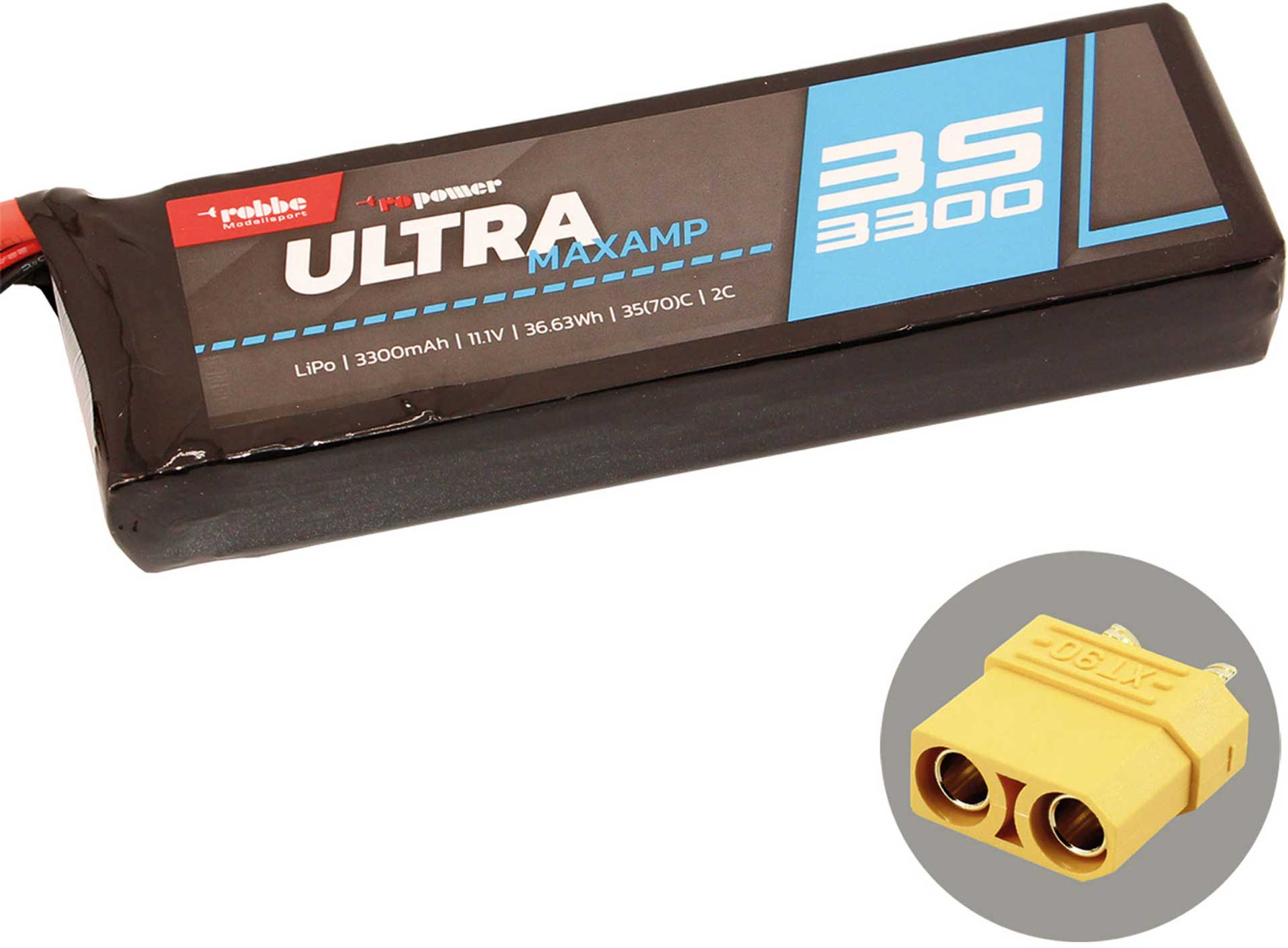 ROBBE RO-POWER ULTRA MAXAMP 3300MAH 11,1 VOLT