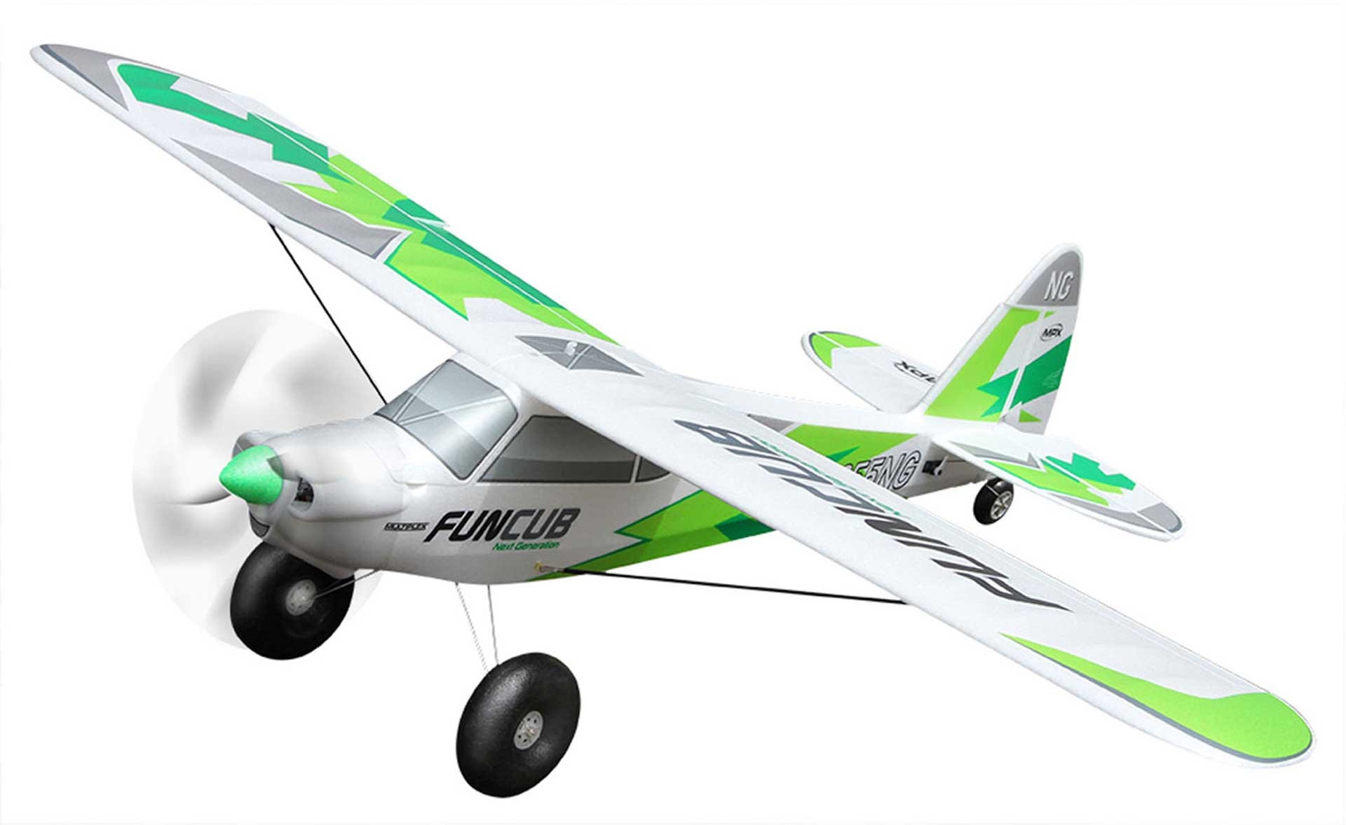 MULTIPLEX FUNCUB NG GREEN KIT