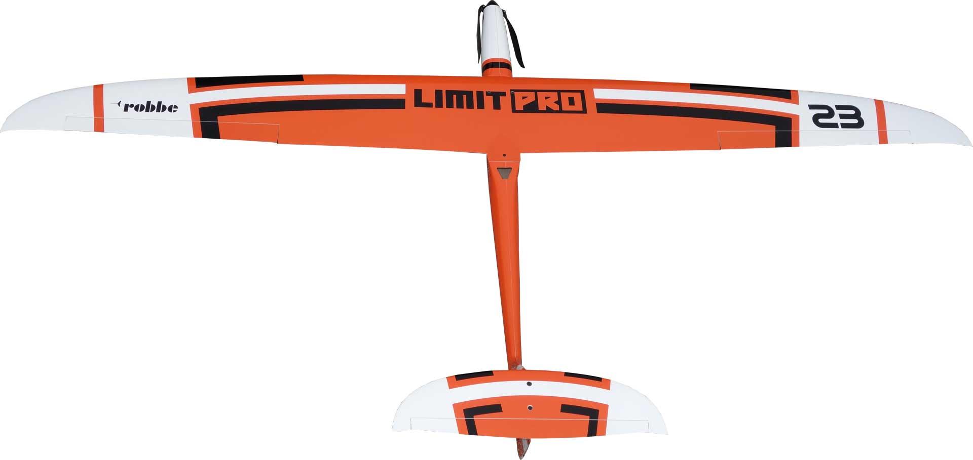 Robbe Modellsport Limit Pro PNP ORANGE mit eingebauten Servos und Antrieb, Voll-GfK/CfK