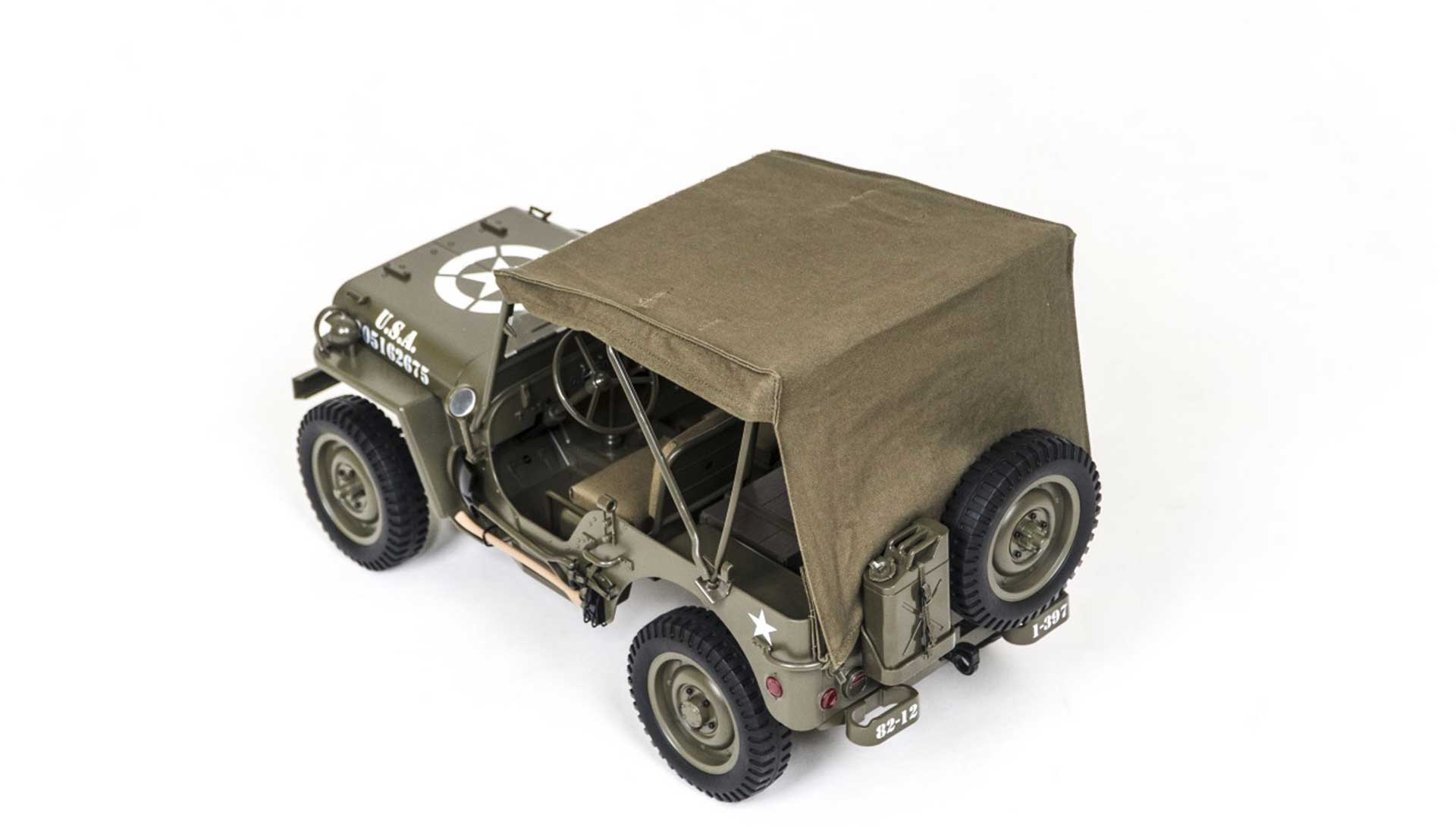 ROC HOBBY MB Scaler 1941 1:6 - Softtop Verdeck