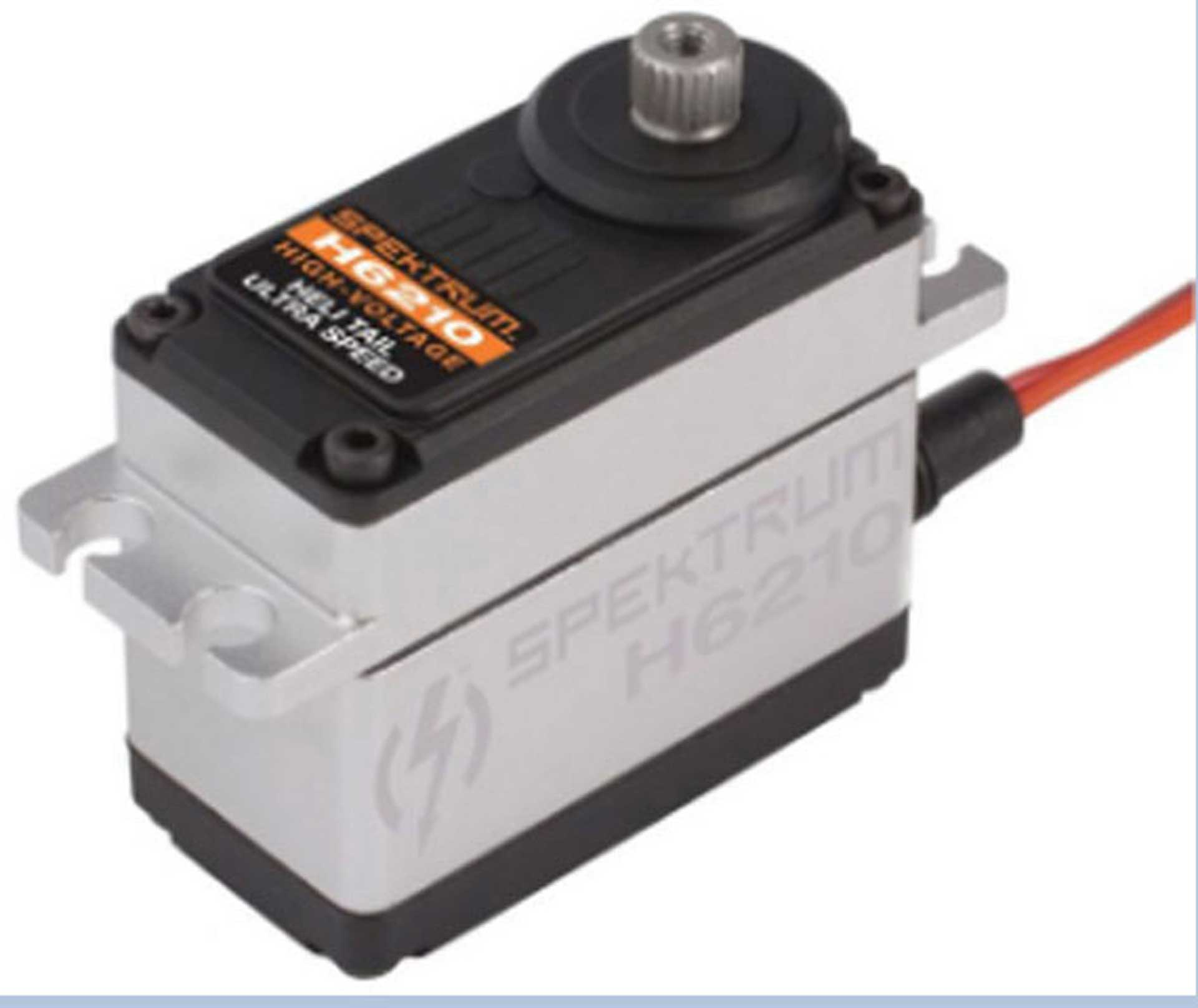 SPEKTRUM H6210 HV HECK-DIGITALSERVO MIT METALLGETRIEBE, ULTRA SPEED