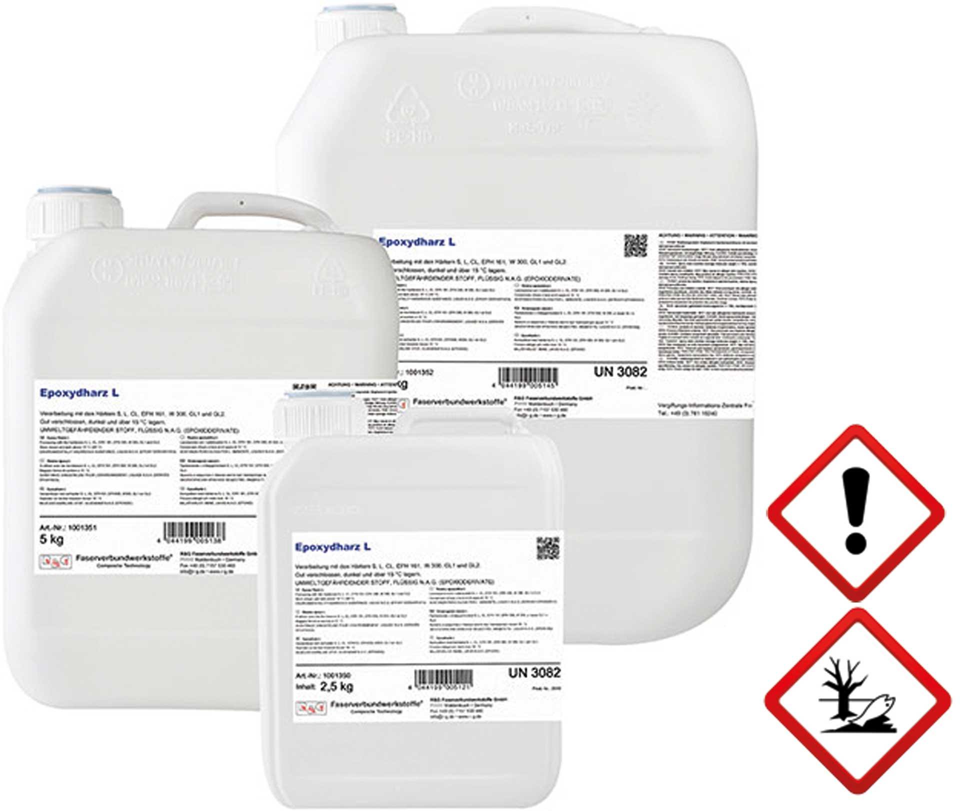 R&G Epoxidharz L, Kanister/ 2,5 kg