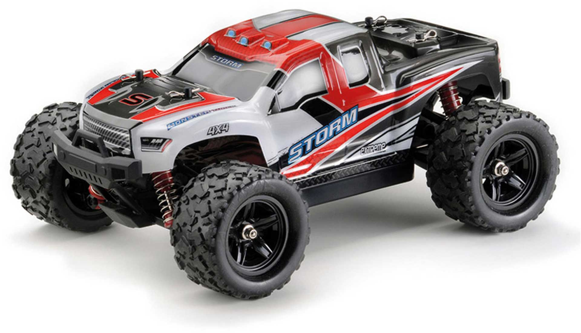 """ABSIMA HIGH SPEED MONSTER TRUCK """"STORM"""" ROT 4WD RTR 1/18"""