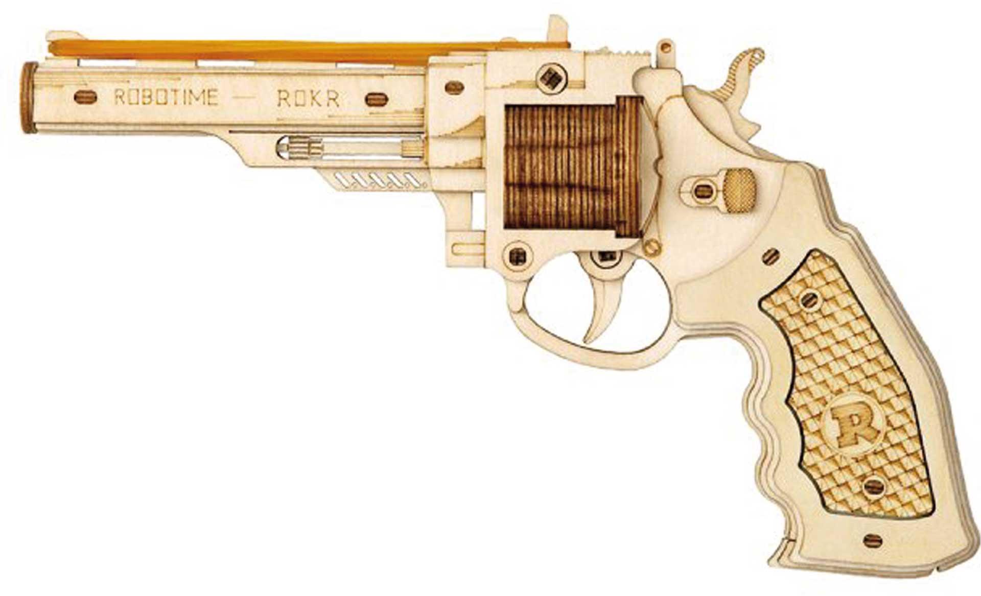 PICHLER Revolver M60 (Lasercut Holzbausatz)