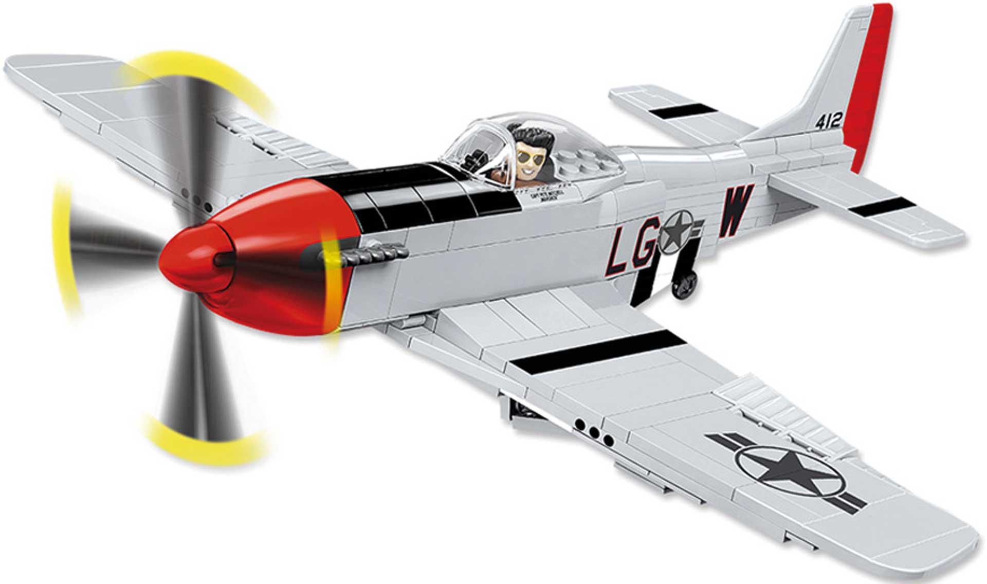 COBI P-51D Mustang (265 Teile) Klemmbausteine