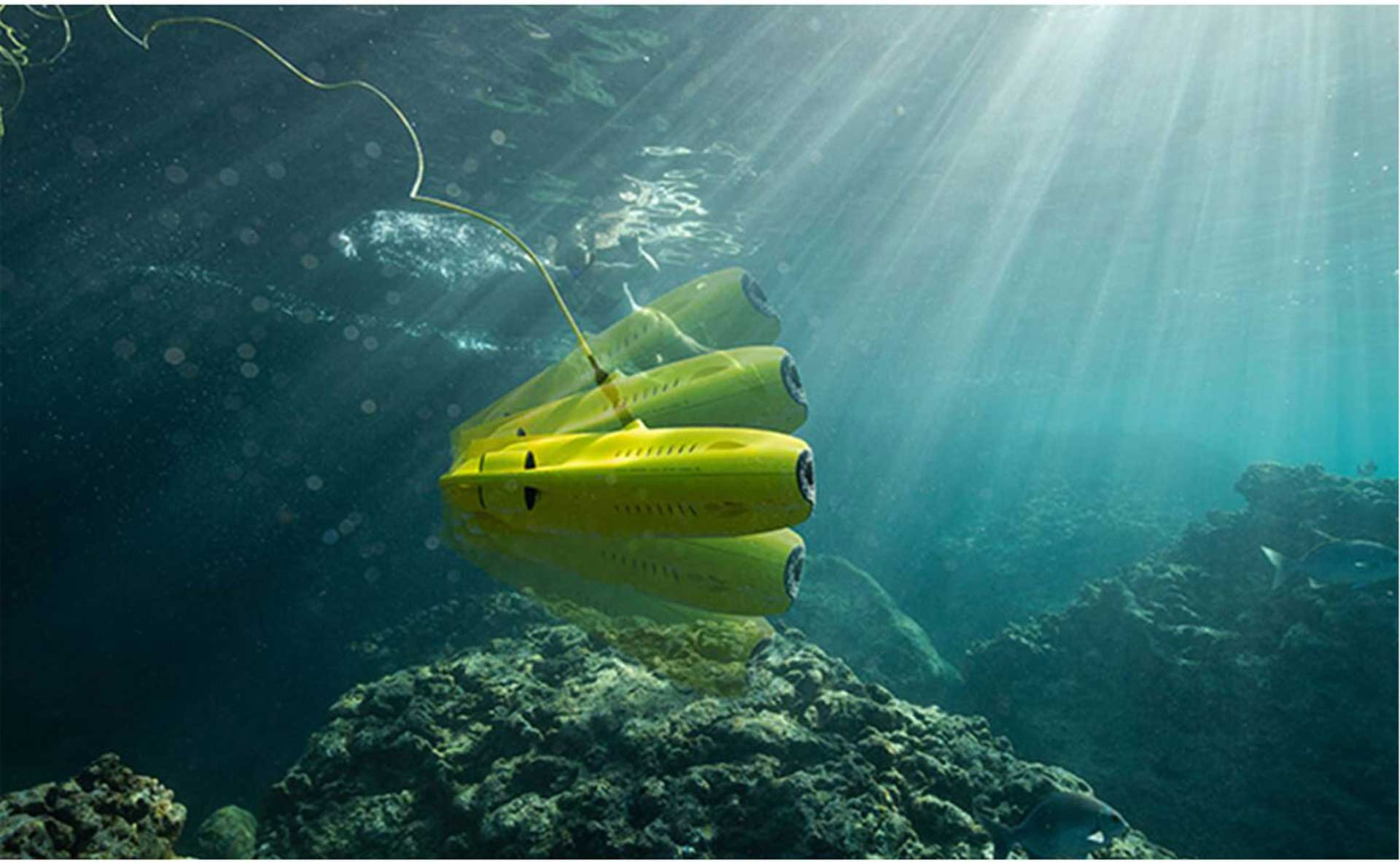 CHASING INNOVATION GLADIUS MINI (50M) ROV UNDERWATER DRONE WITH 4K VIDEO