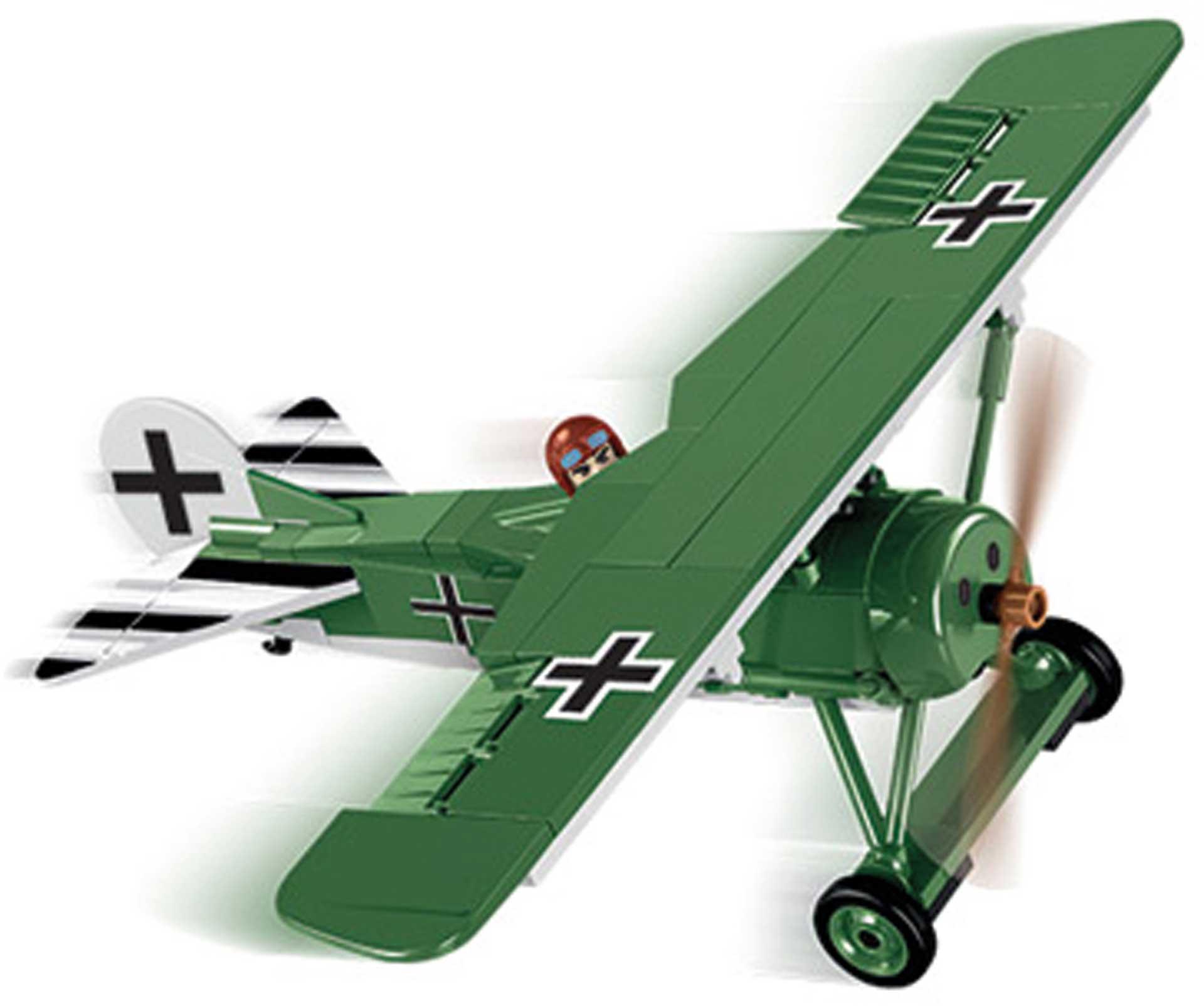 COBI Fokker E.V (D.VIII) 2in1 (155 Teile) Klemmbausteine