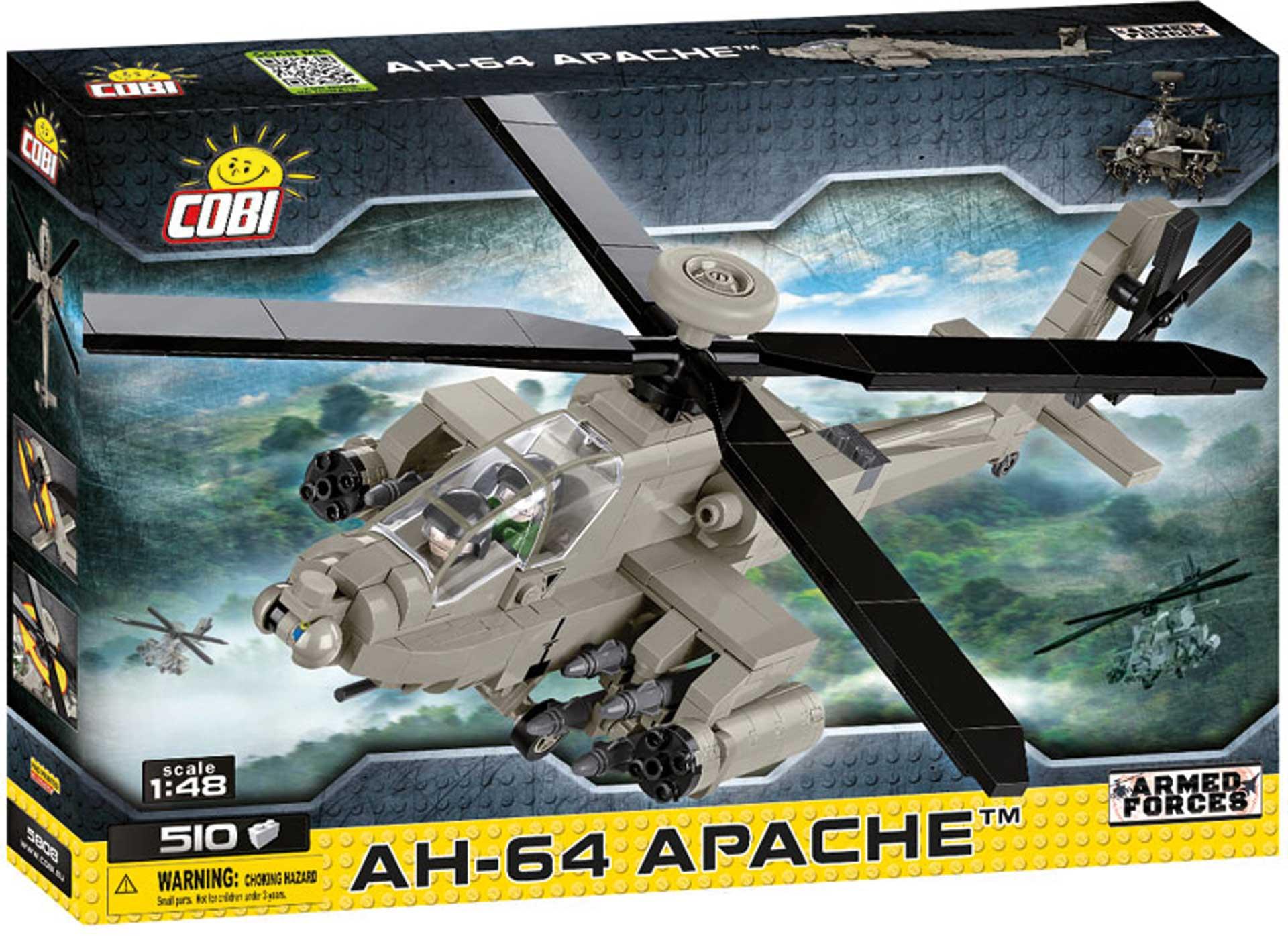 COBI AH-64 Apache (510 Teile) Klemmbausteine