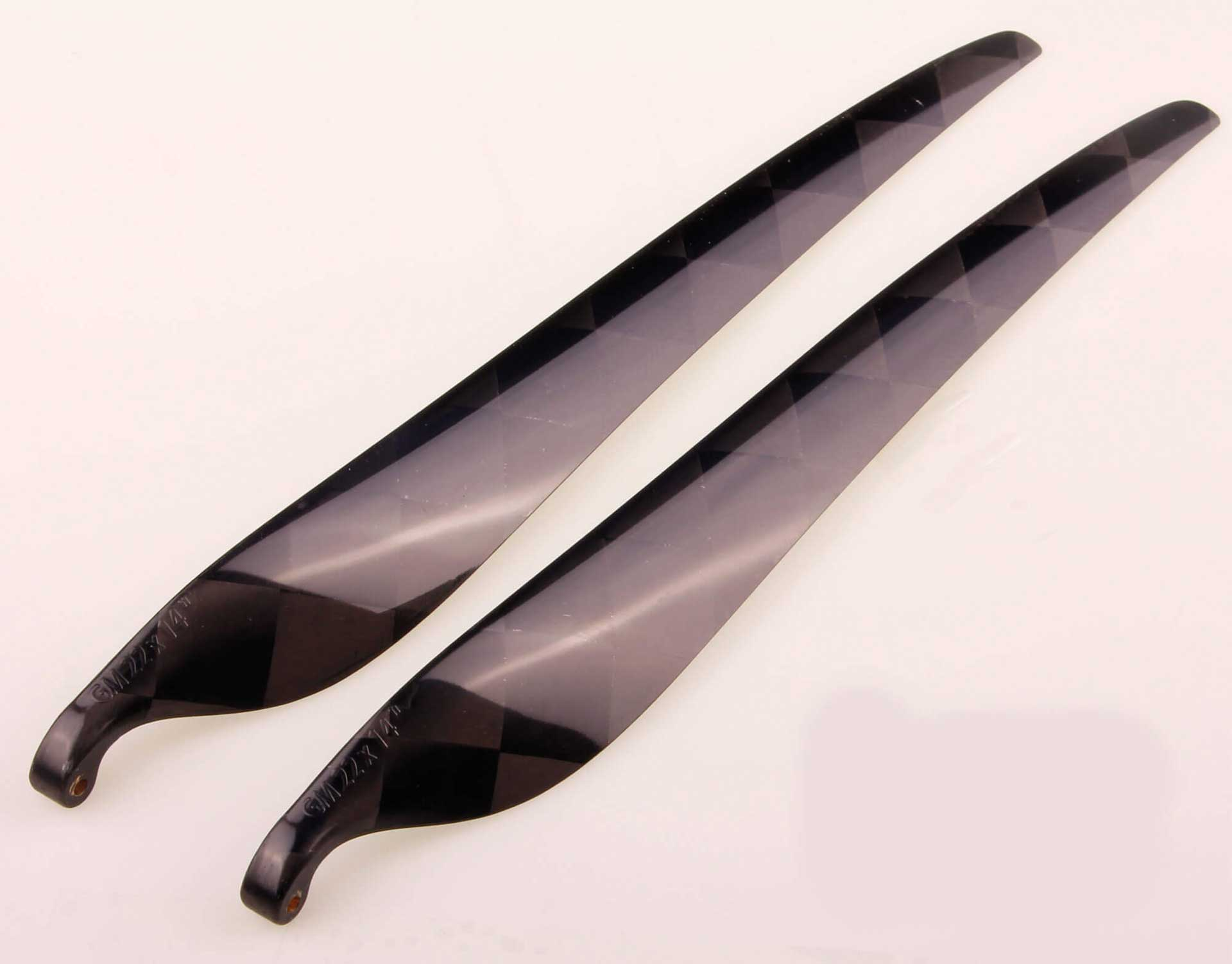 GM Propellers Folding propeller 22x14 Carbon black 1 pair