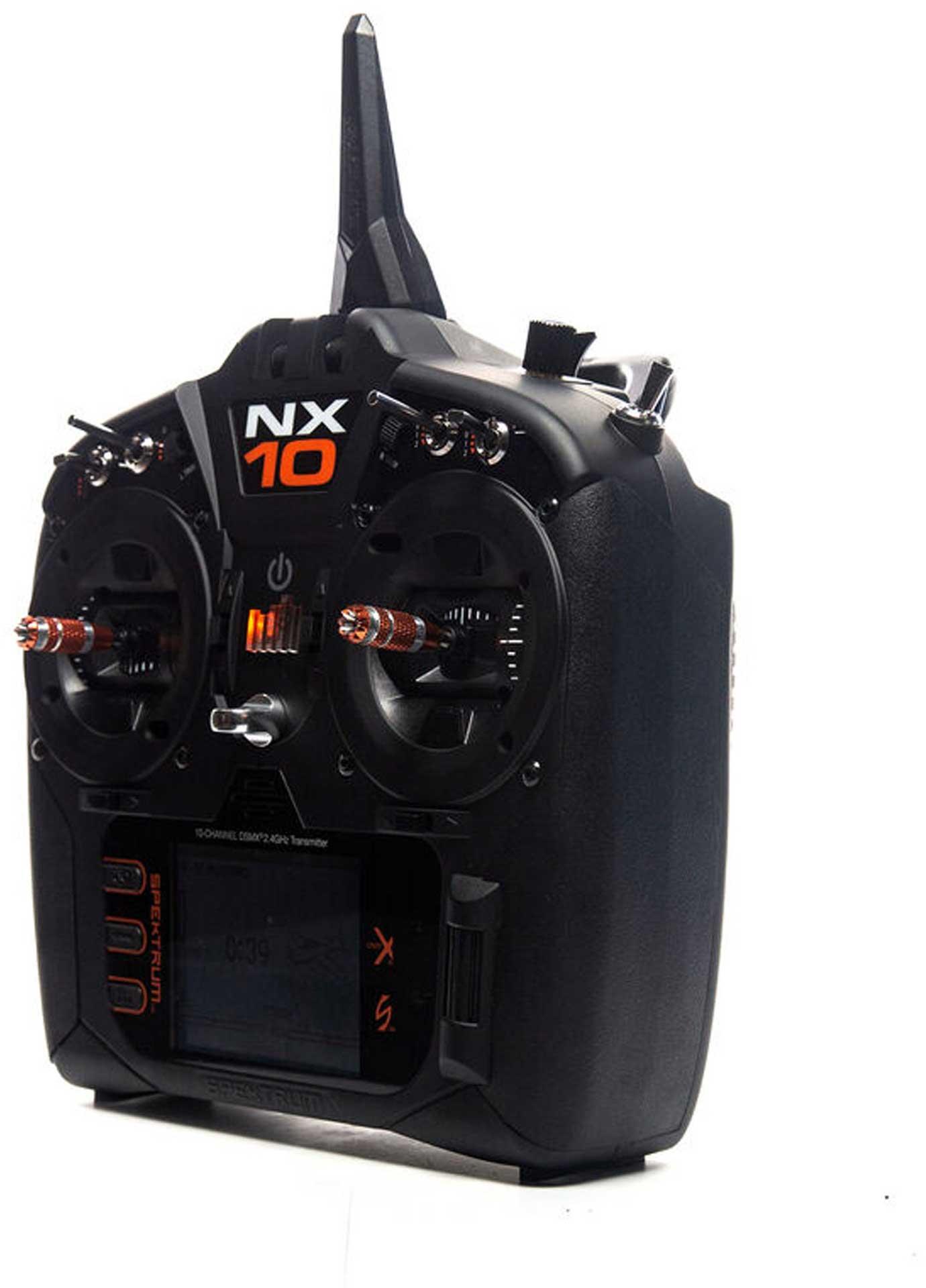 SPEKTRUM NX10 10-Kanal Einzelsender DSMX