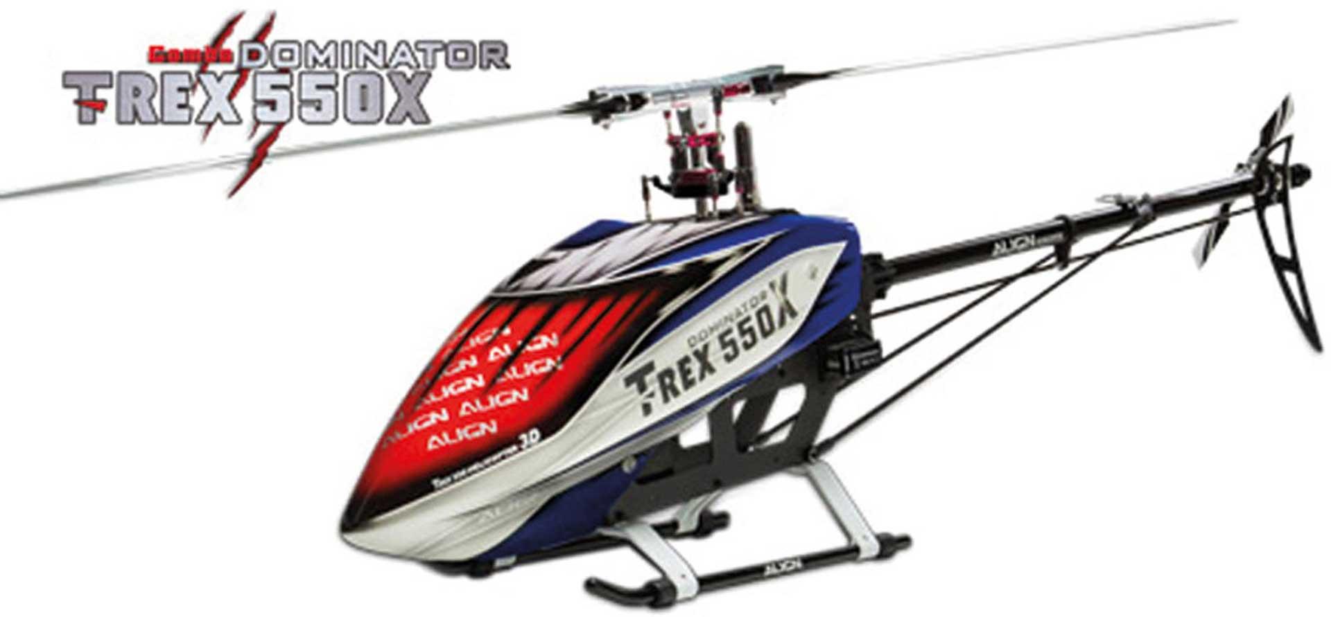 ALIGN T-REX 550X DOMINATOR COMBO DS820/DS825