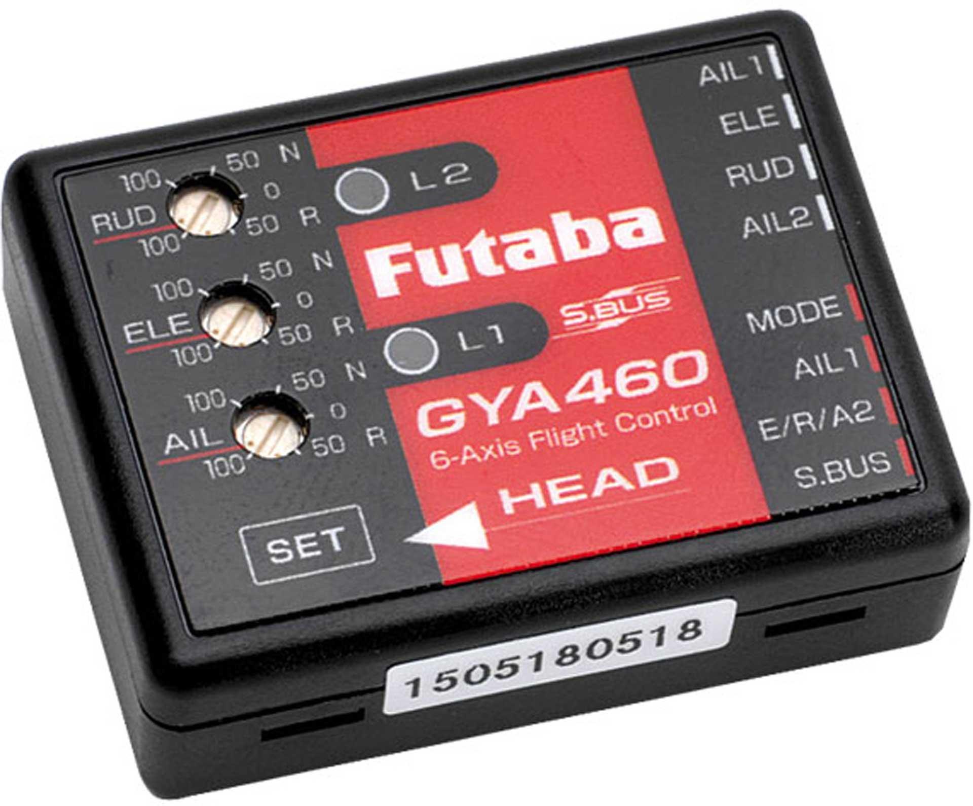 FUTABA GYA460 FLIGHT GYRO 6-AXES WITH AUTOMATIC POSITION STABILIZATION