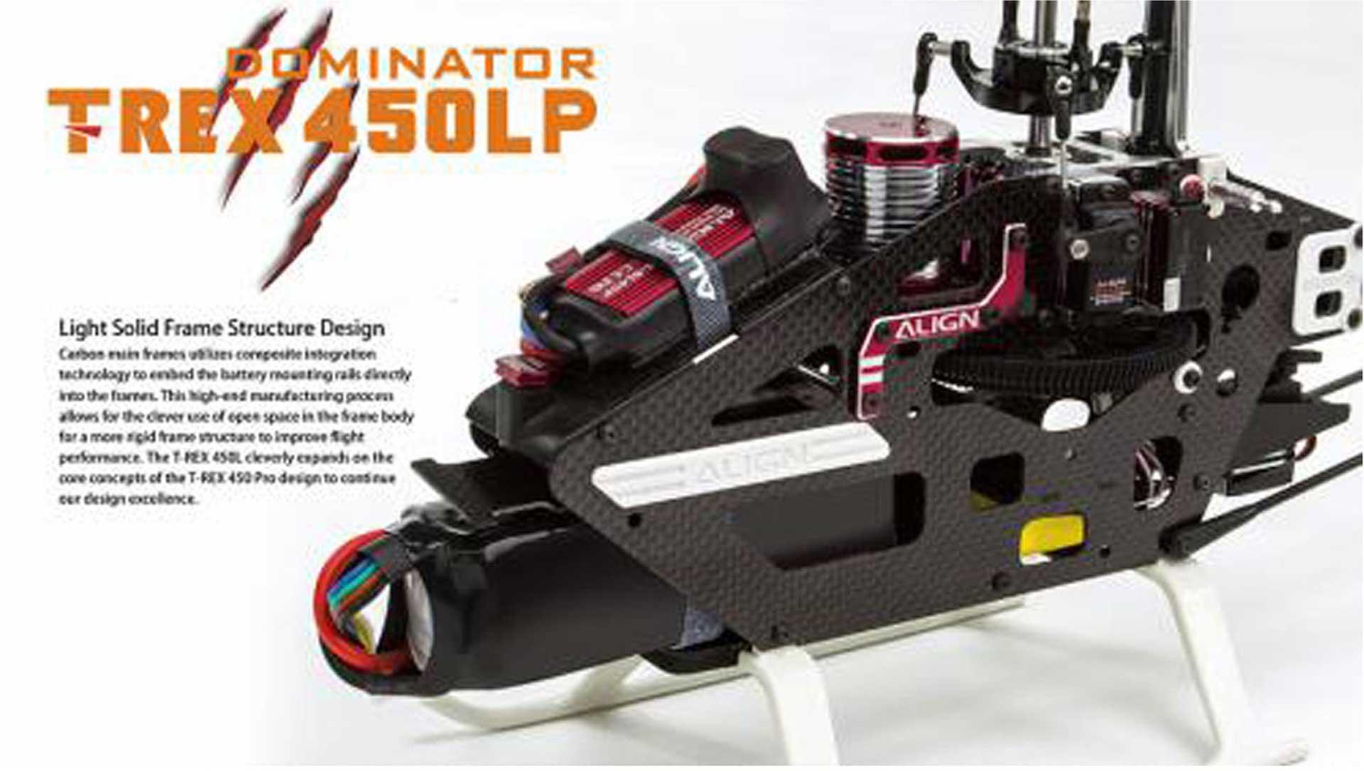 ALIGN T-REX 450LP DOMINATOR (3S) ARTF