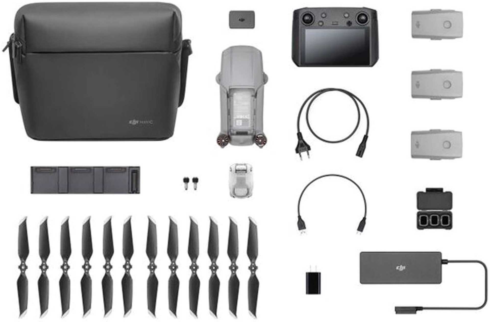 DJI Mavic Air 2 - Fly More Combo incl. DJI Smart remote control