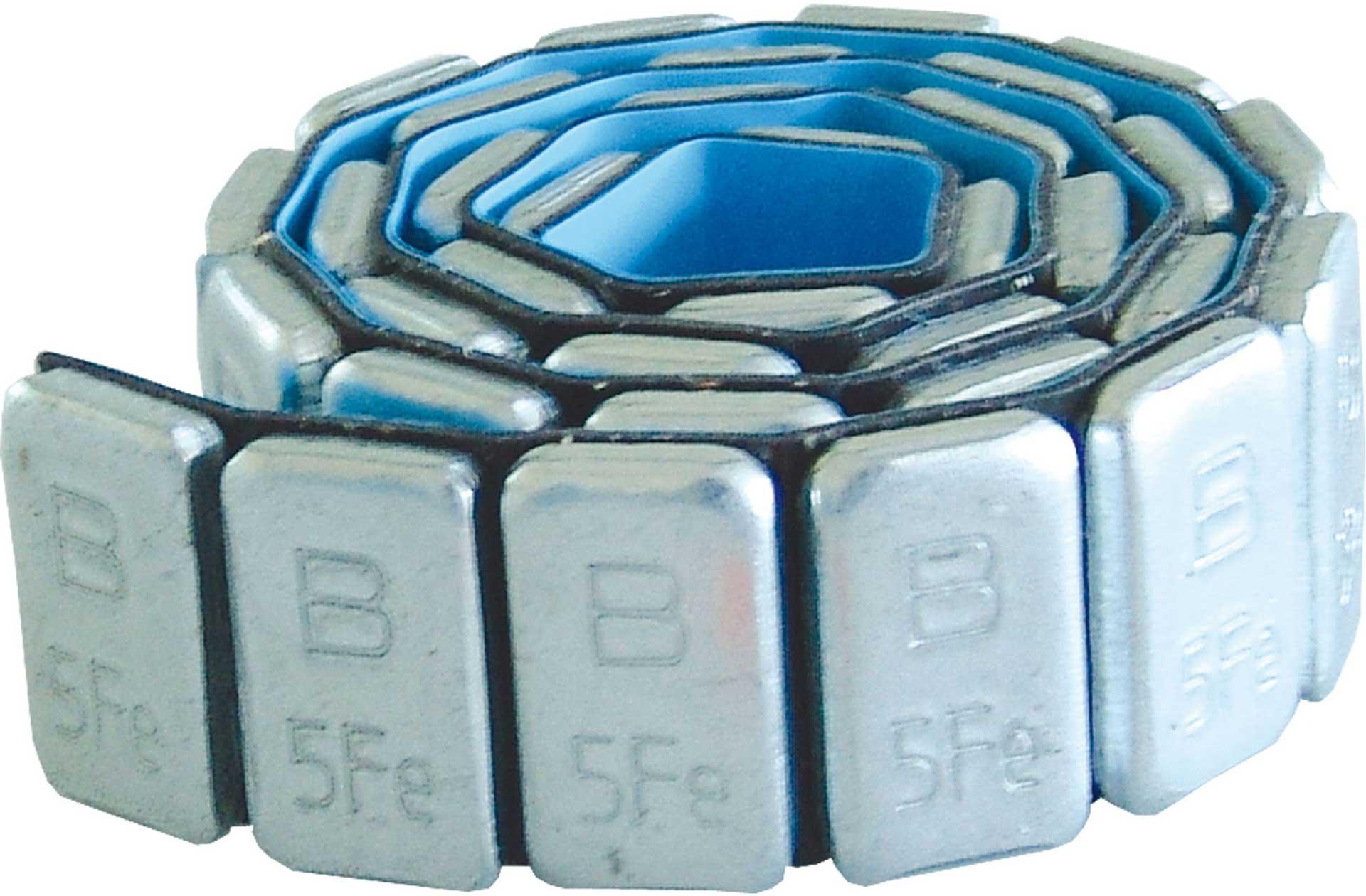 ROBBE Trimmgewichte Stahl 170g selbstklebend 5g Teilung