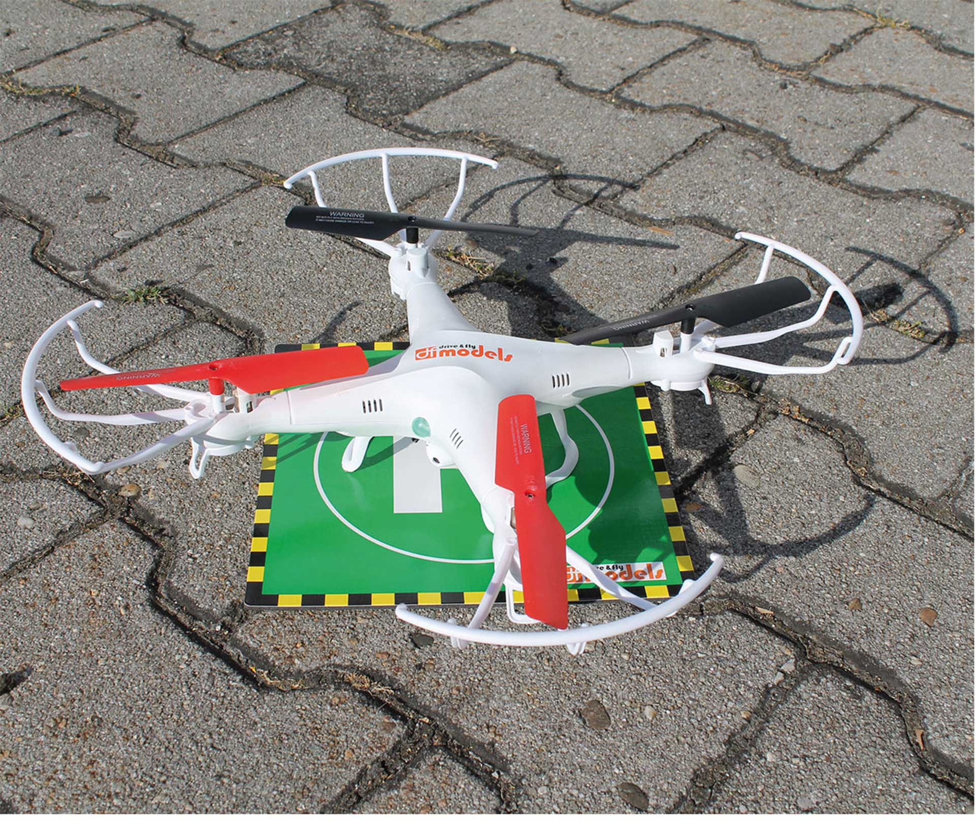 DRIVE & FLY MODELS HELI / MULTICOPTER LANDEPAD HELIPAD