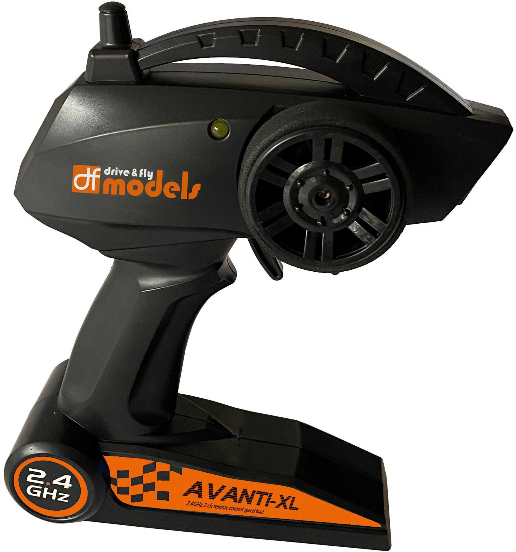 DRIVE & FLY MODELS Sender zu 3670 AVANTI-XL Boot RTR