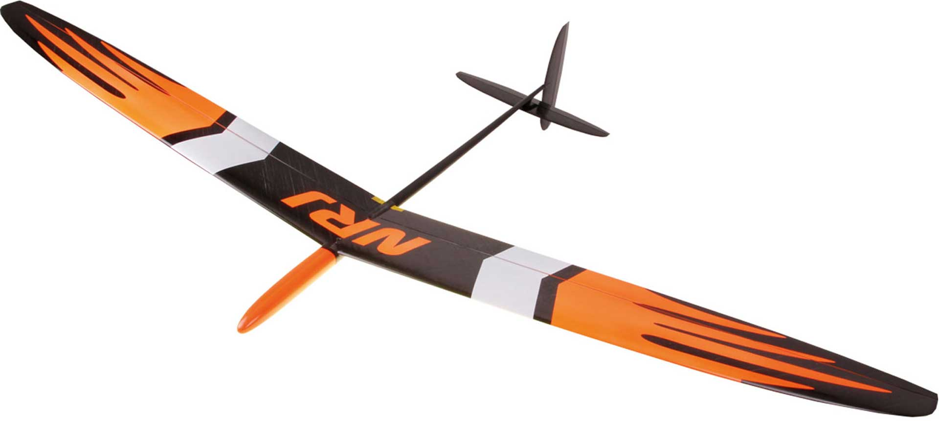 OA-COMPOSITES NRJ F3K ORANGE # 18 CW40 SPIN GLIDER