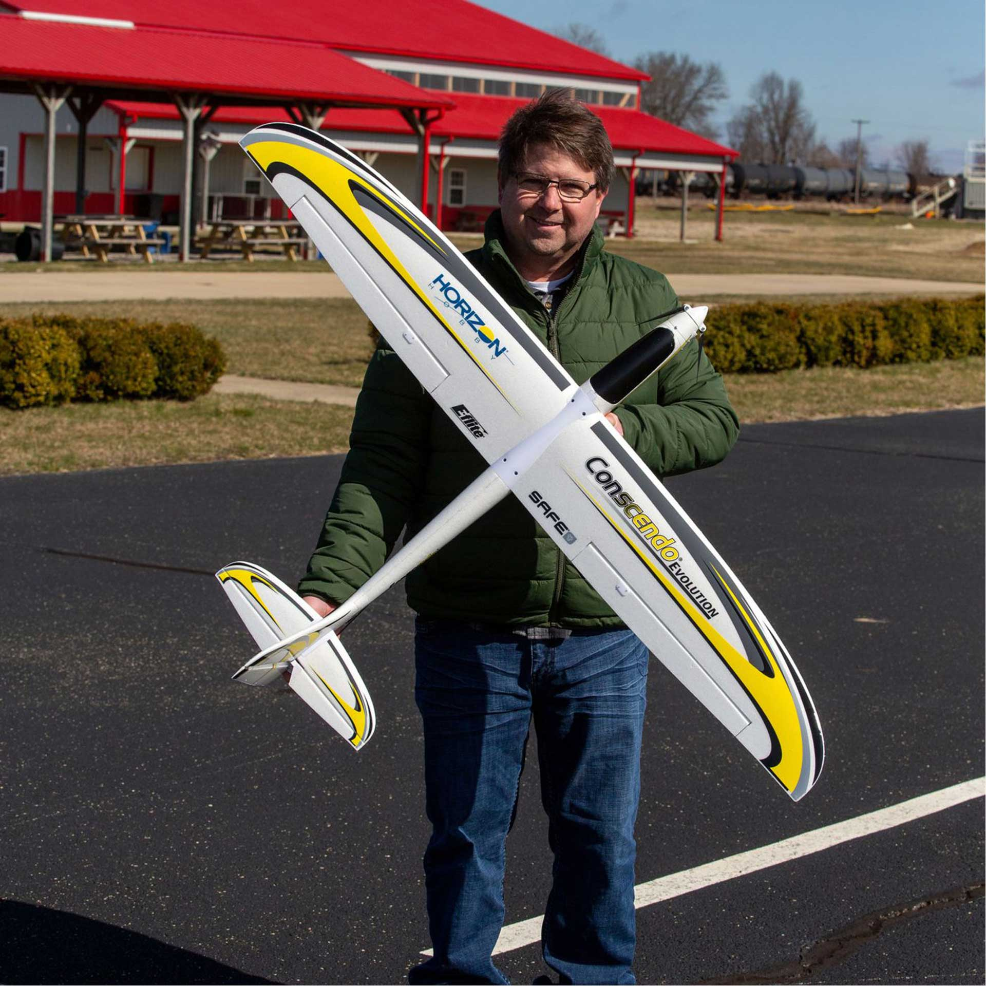 E-Flite Conscendo Evolution 1.5m BNF Basic w/SAFE Select