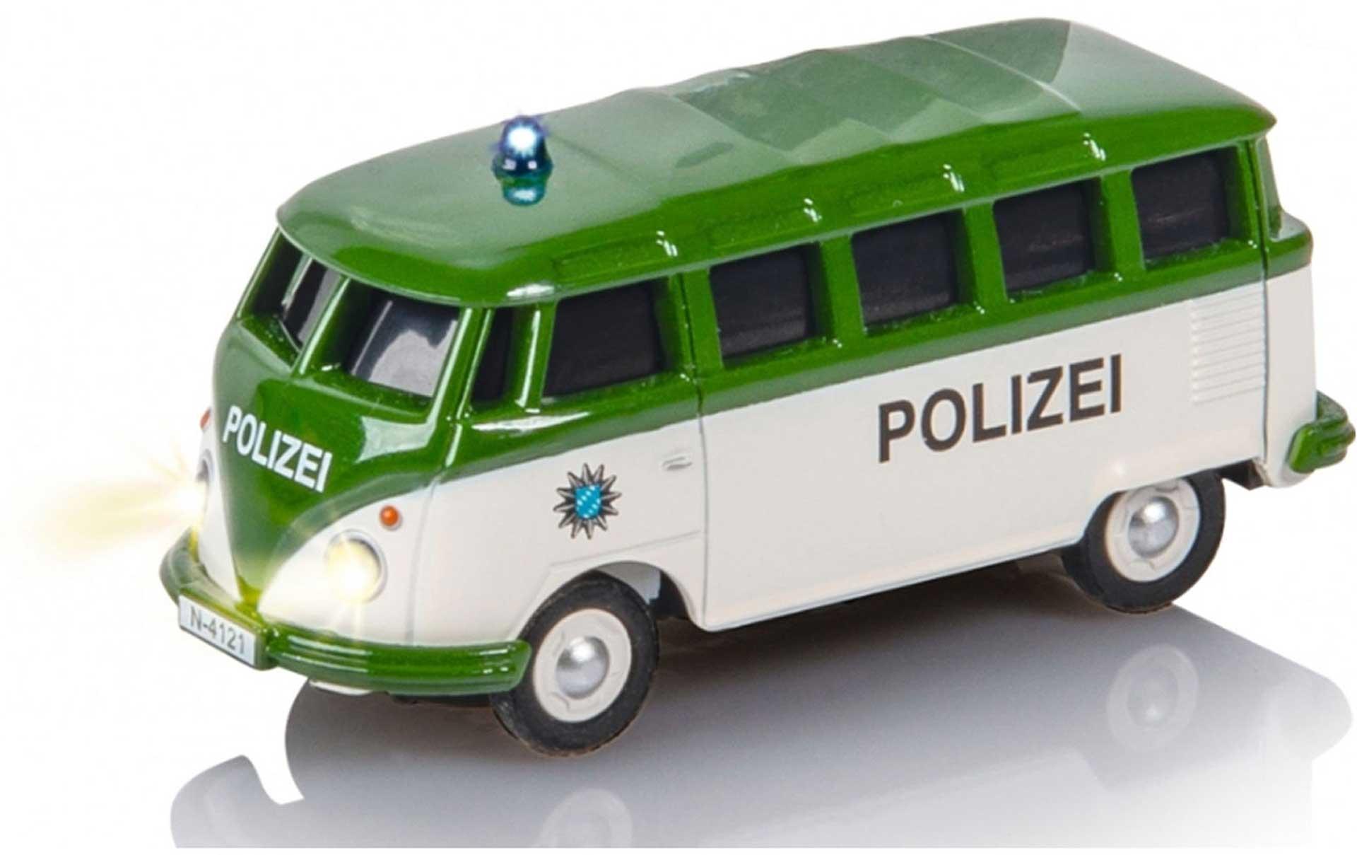 CARSON VW T1 KASTENWAGEN POLIZEI 1/87 RTR 2,4G