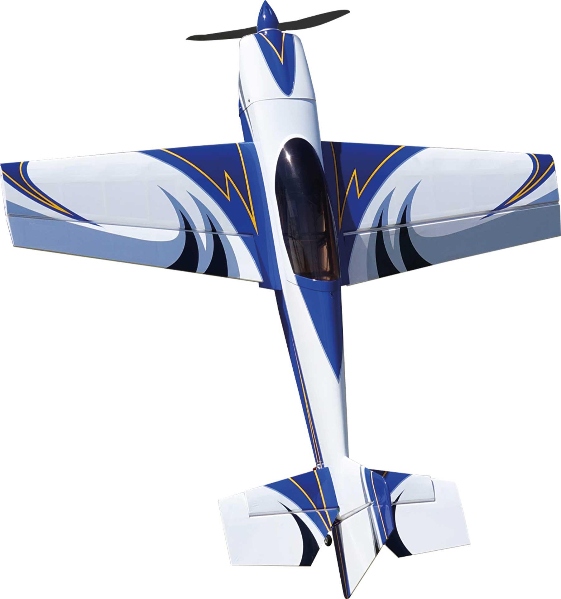 "EXTREMEFLIGHT-RC Extra NG 60""  blau / weiss ARF"