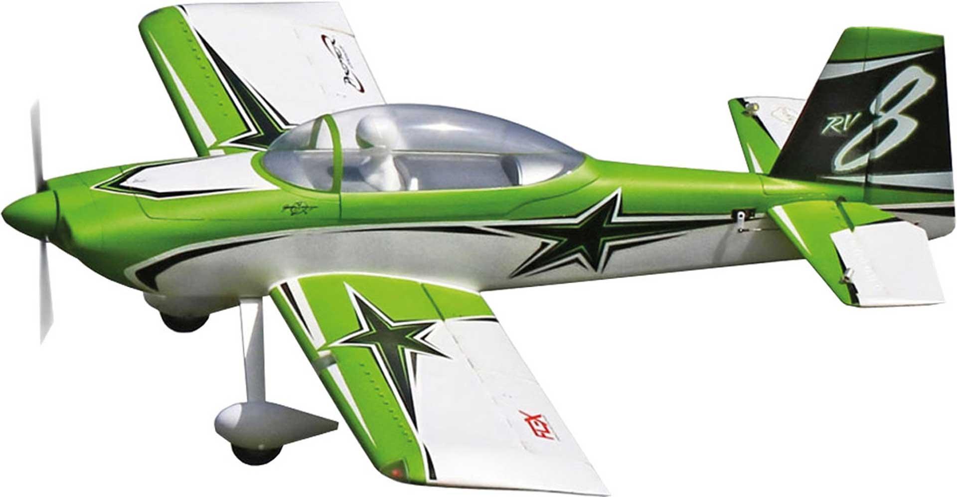PREMIER AIRCRAFT RV-8 SUPER PNP MIT AURA 8 GRÜN