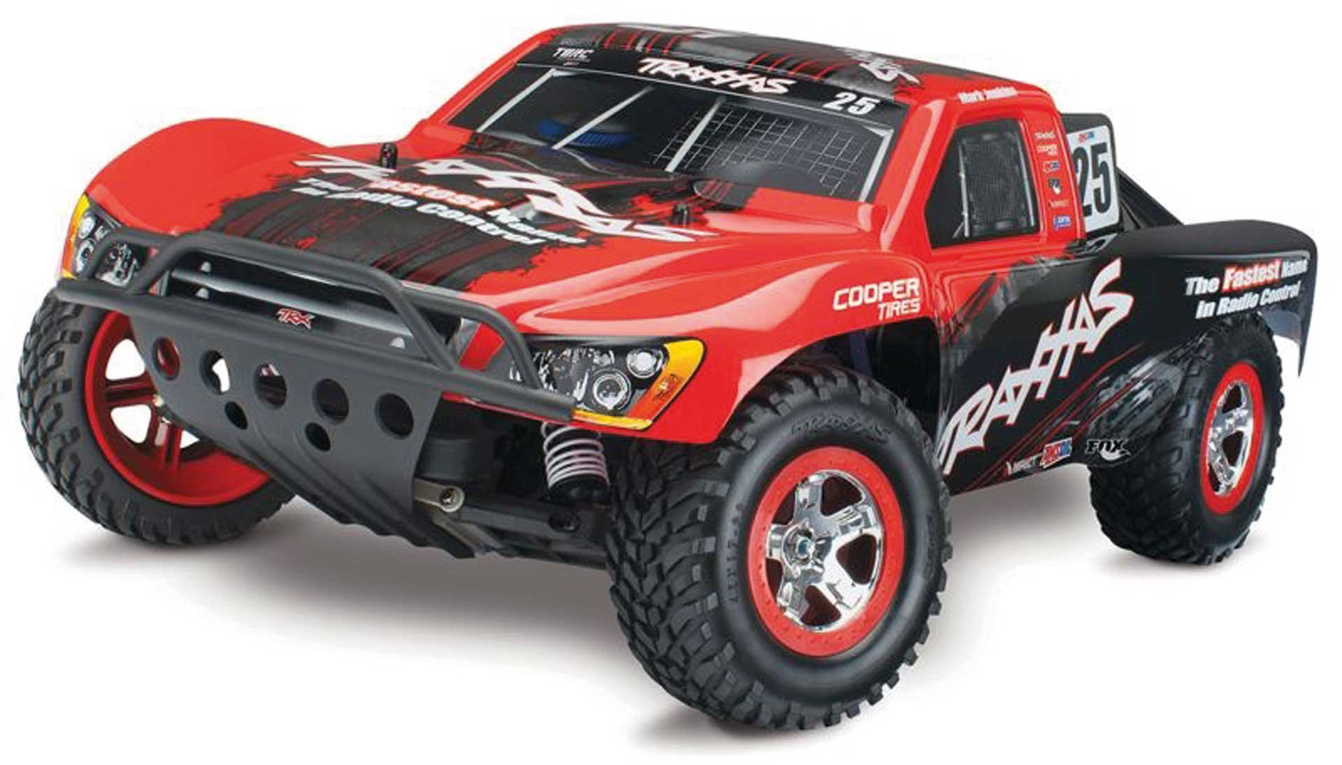 TRAXXAS NITRO-SLASH RTR 1/10 2.4GHZ MARK JENKINS EDITION SHO RT COURSE RACING VERBRENNER-TRUCK 2WD (L
